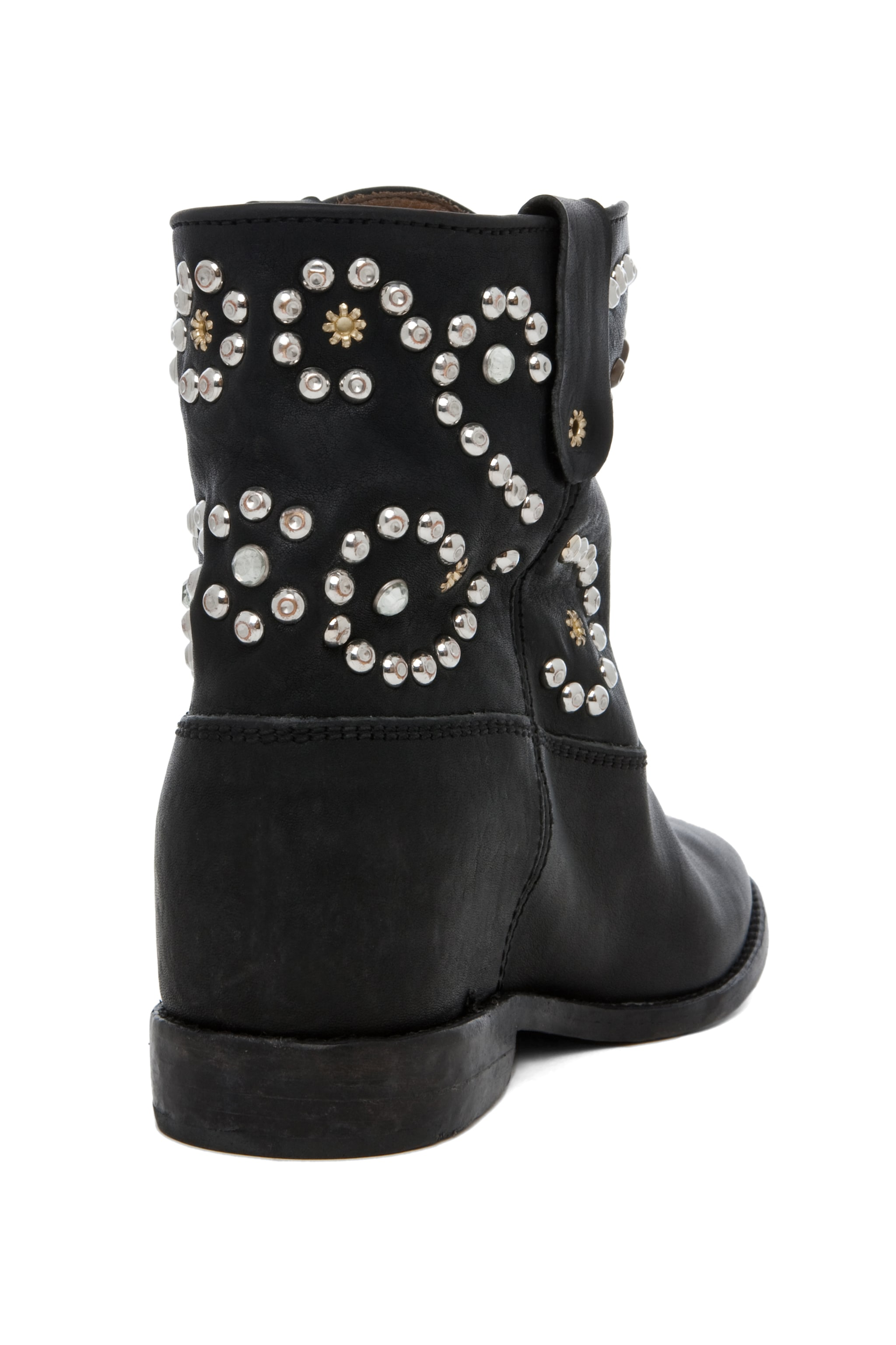 Image 3 of Isabel Marant Caleen Studded Bootie in Black