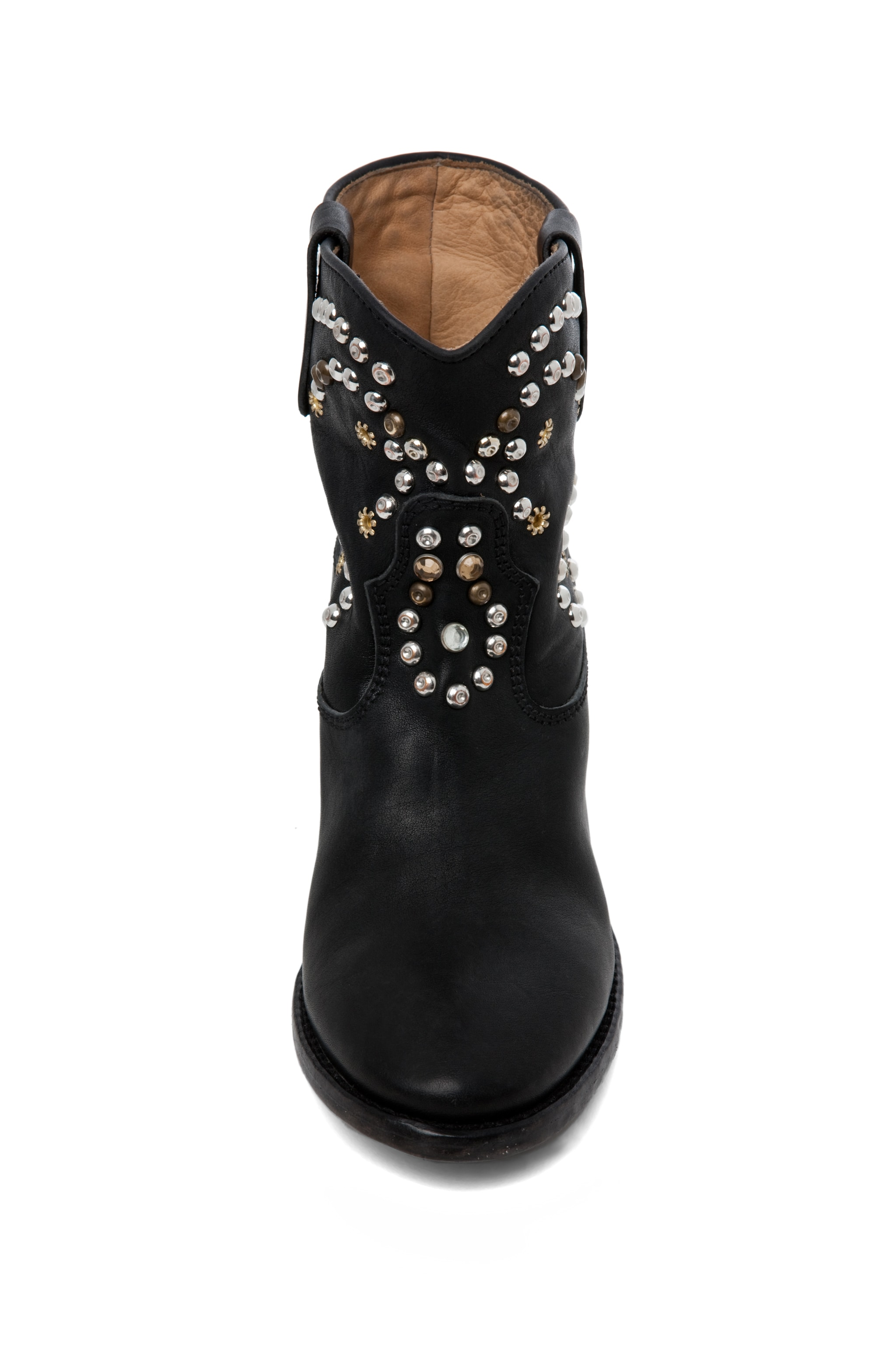 Image 4 of Isabel Marant Caleen Studded Bootie in Black
