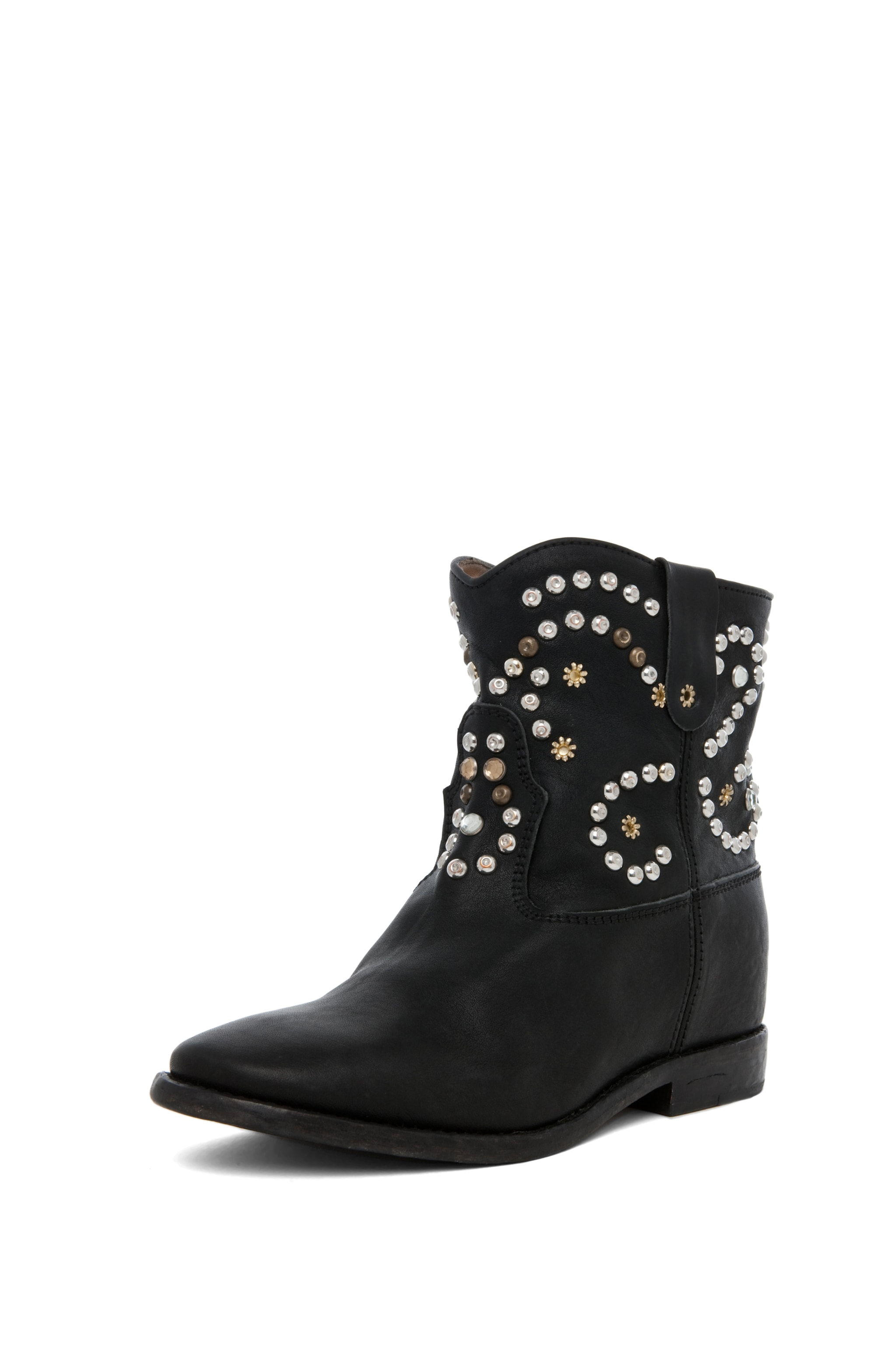 Image 5 of Isabel Marant Caleen Studded Bootie in Black