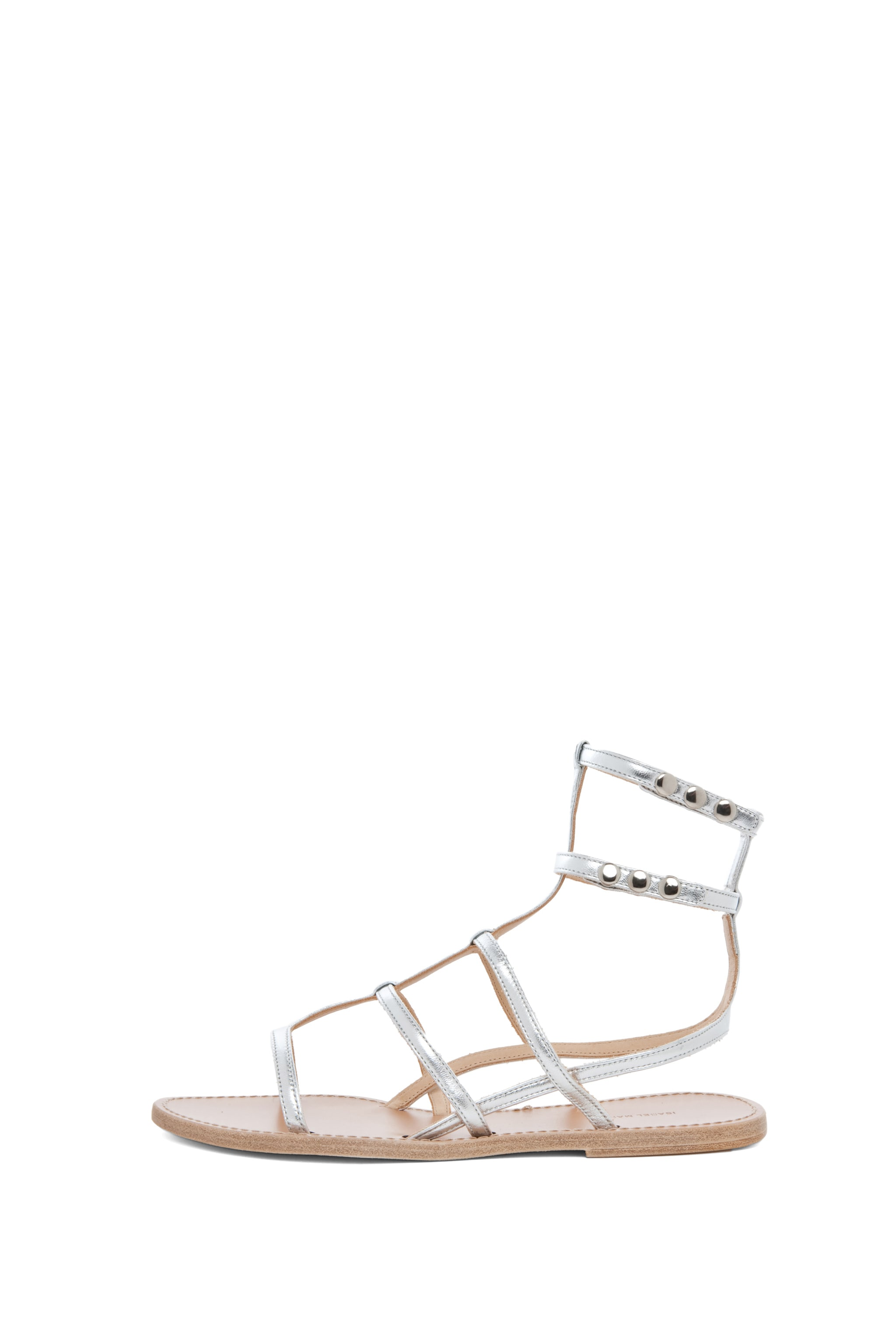 Image 1 of Isabel Marant Orion Sandals in Silver
