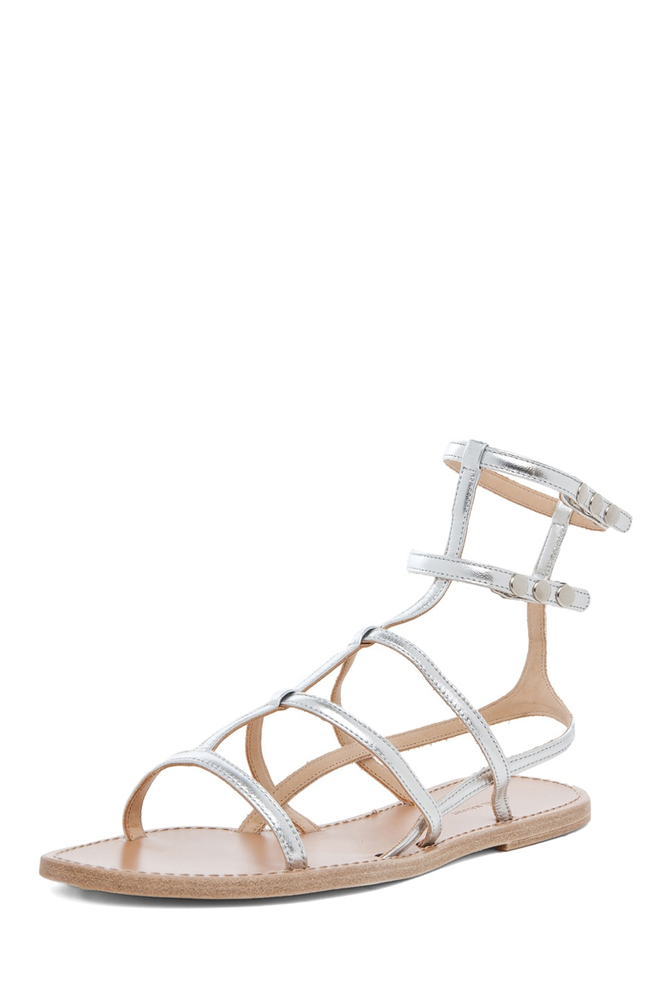 Image 2 of Isabel Marant Orion Sandals in Silver