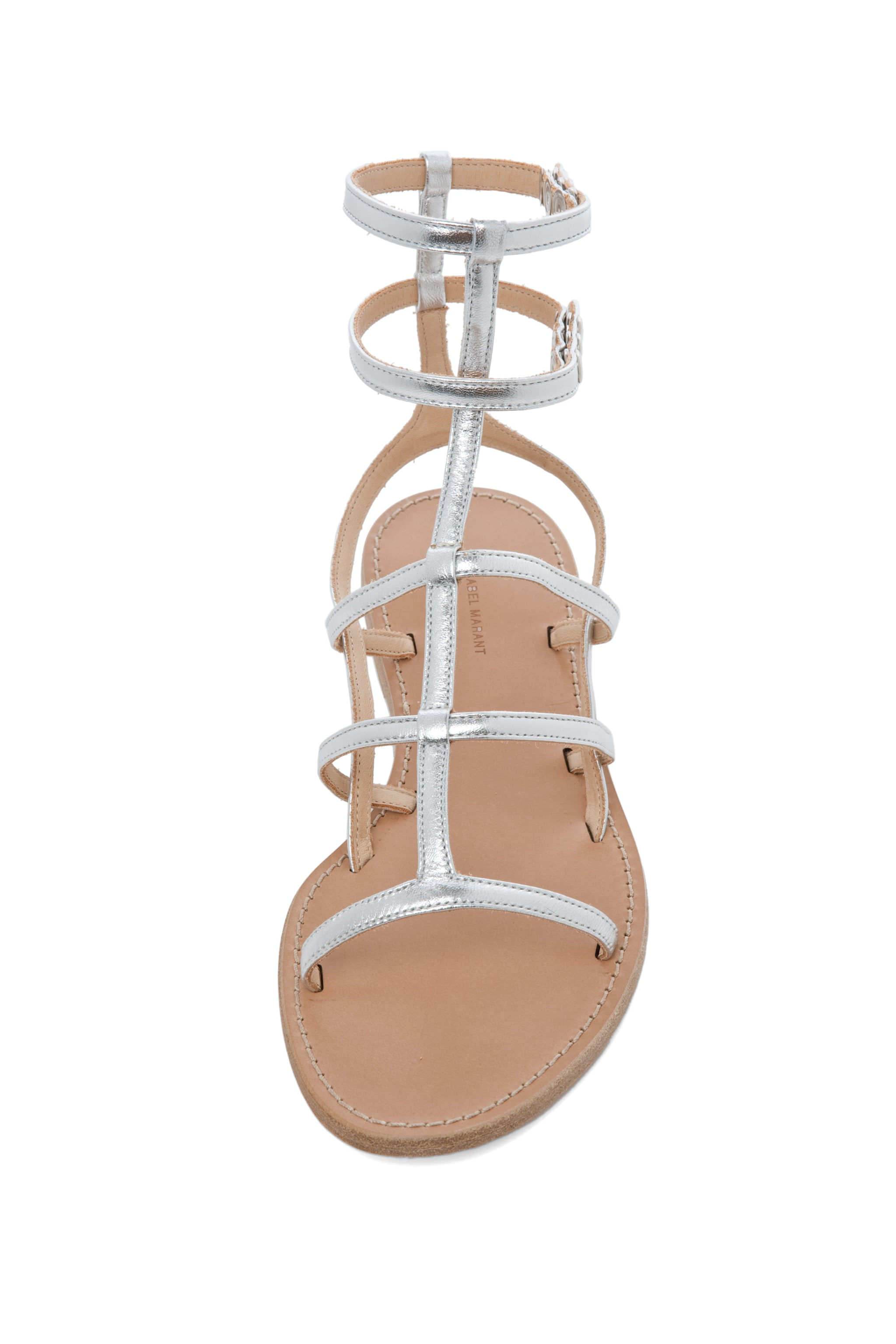 Image 4 of Isabel Marant Orion Sandals in Silver