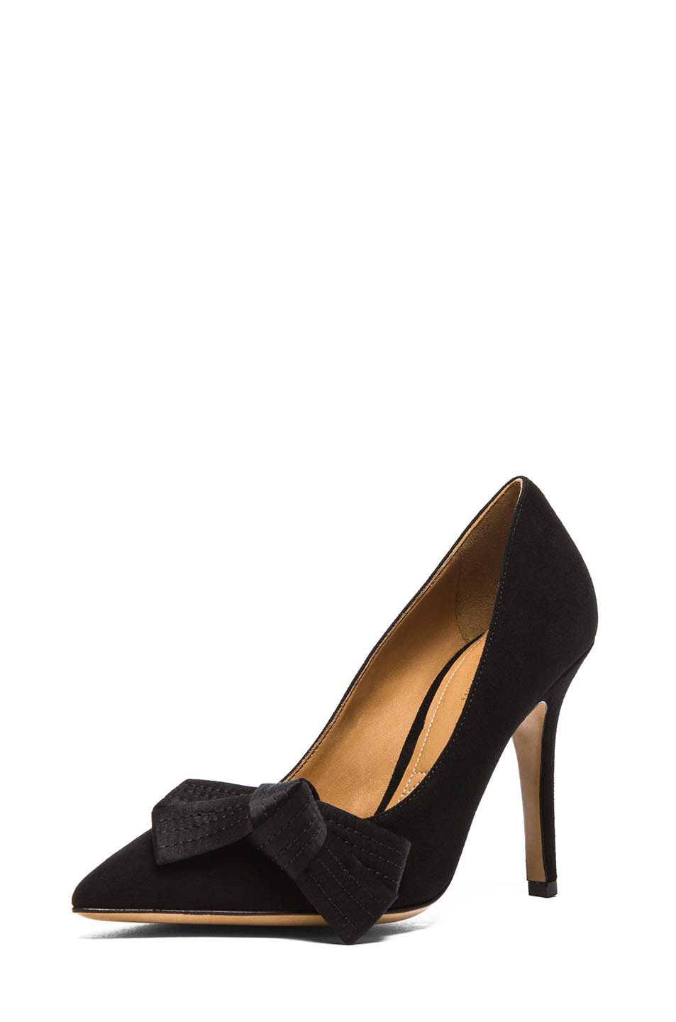 Image 2 of Isabel Marant Poppy Suede Pumps in Black