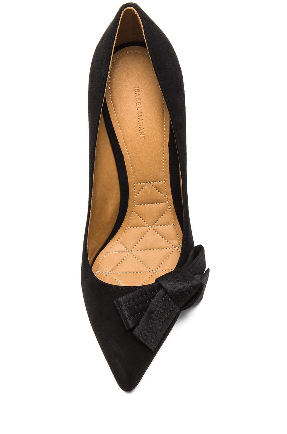 Image 4 of Isabel Marant Poppy Suede Pumps in Black