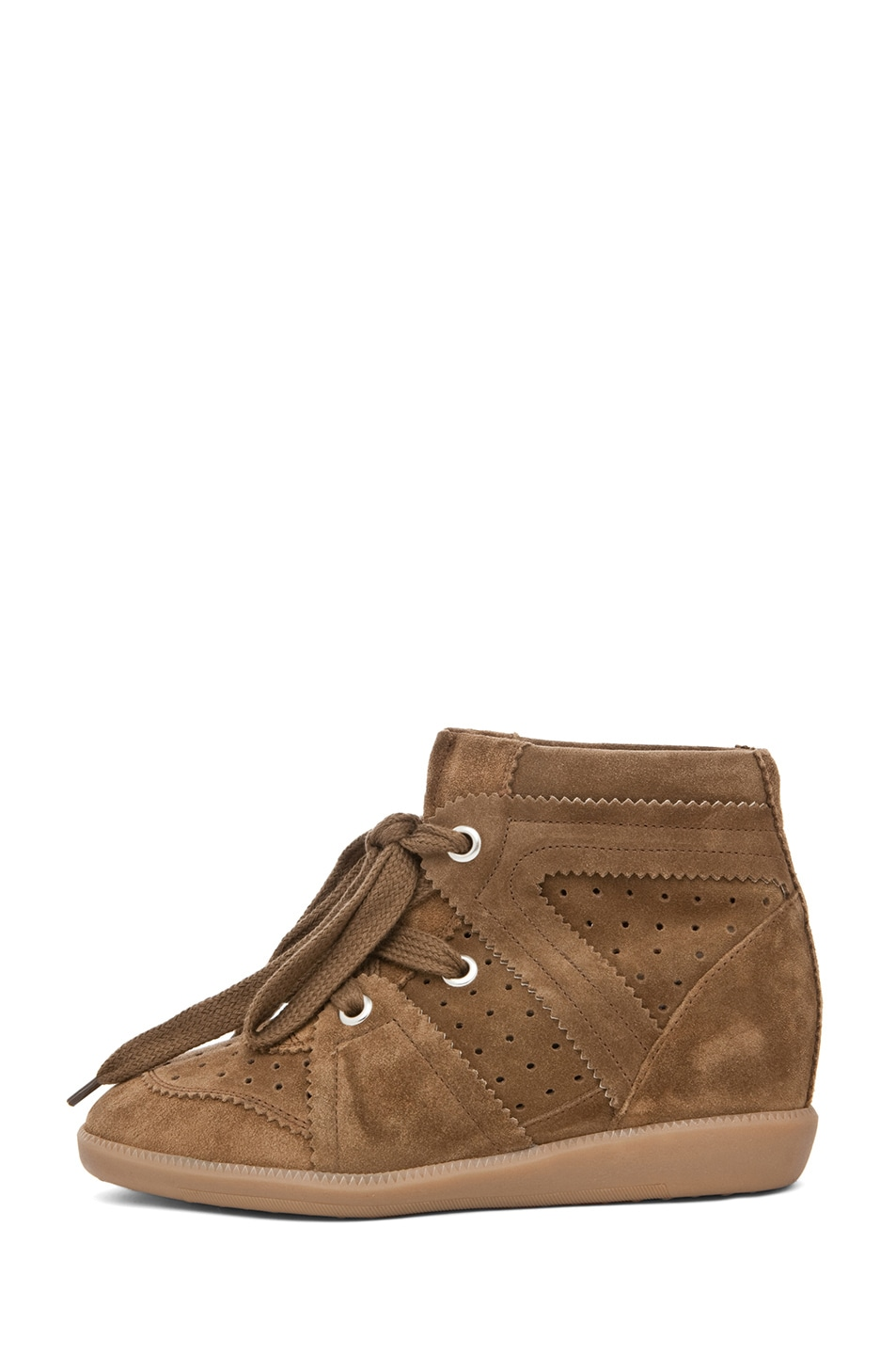 Image 1 of Isabel Marant Bobby Sneaker in Camel