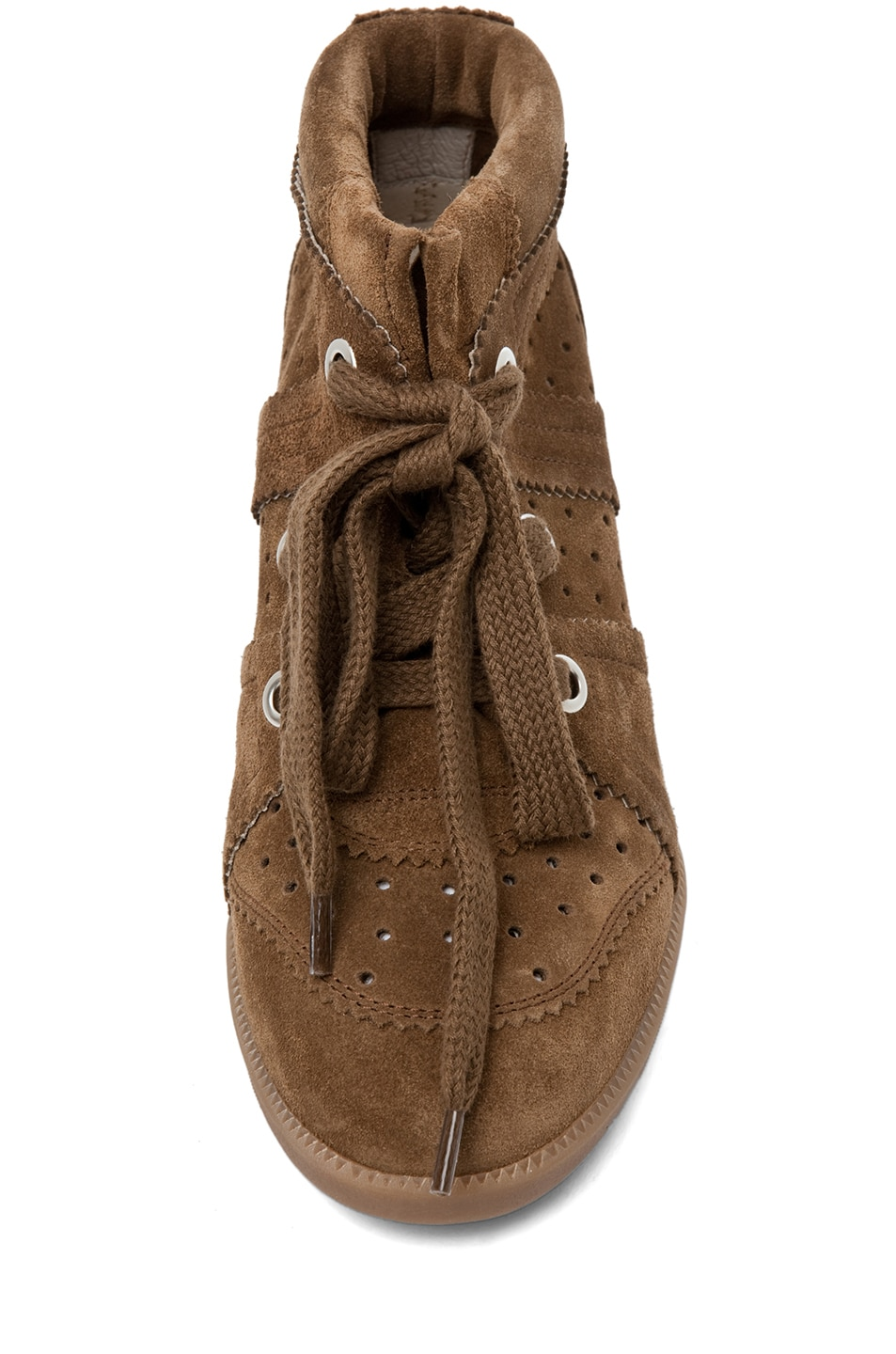 Image 4 of Isabel Marant Bobby Sneaker in Camel
