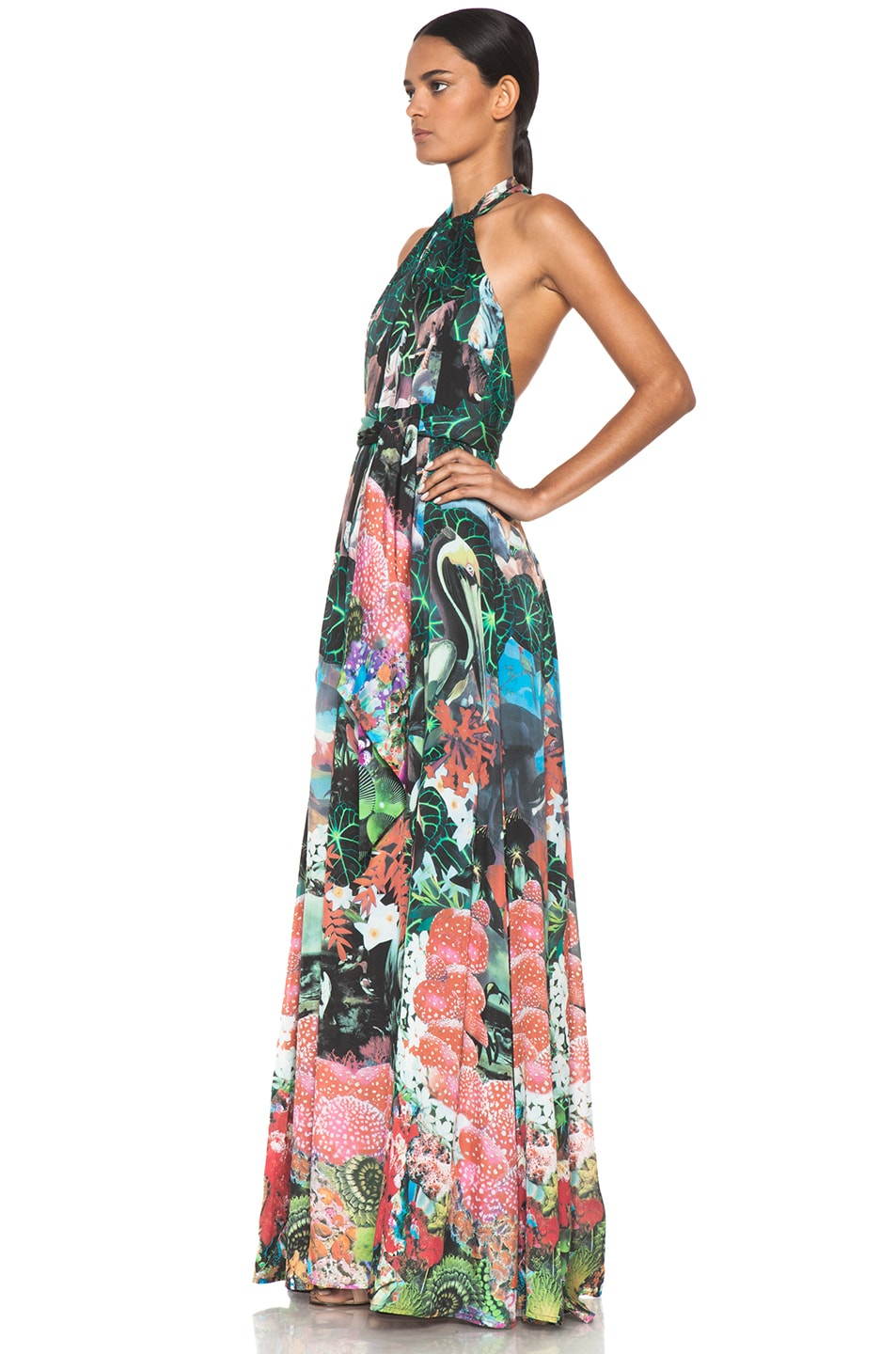 Image 2 of Issa Maxi Dress in Multi