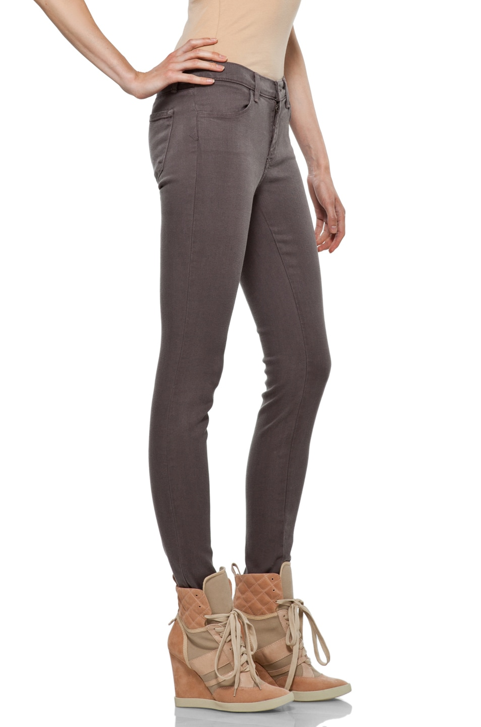 Image 3 of J Brand Midrise Skinny in Cafe
