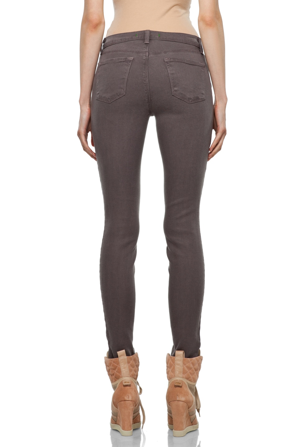 Image 4 of J Brand Midrise Skinny in Cafe
