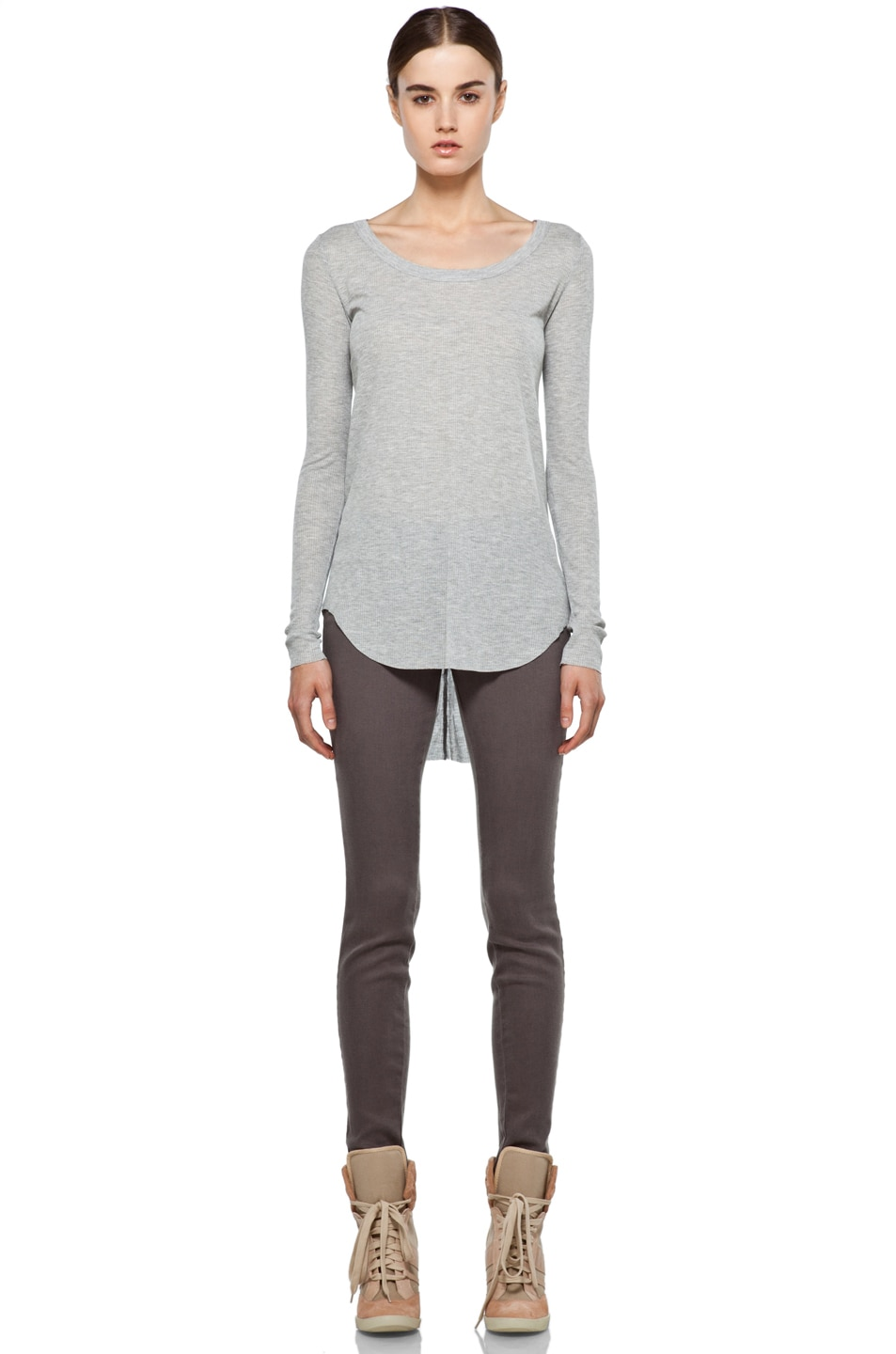 Image 5 of J Brand Midrise Skinny in Cafe