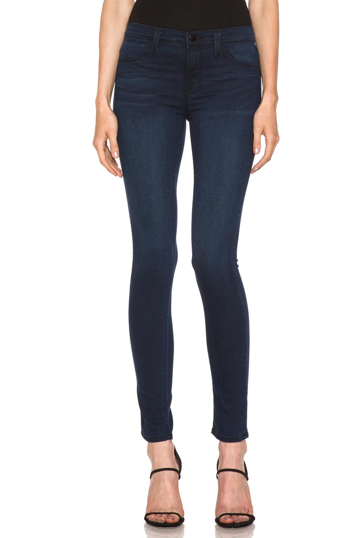 Image 1 of J Brand Mid-Rise Skinny Jean Legging in Brighton