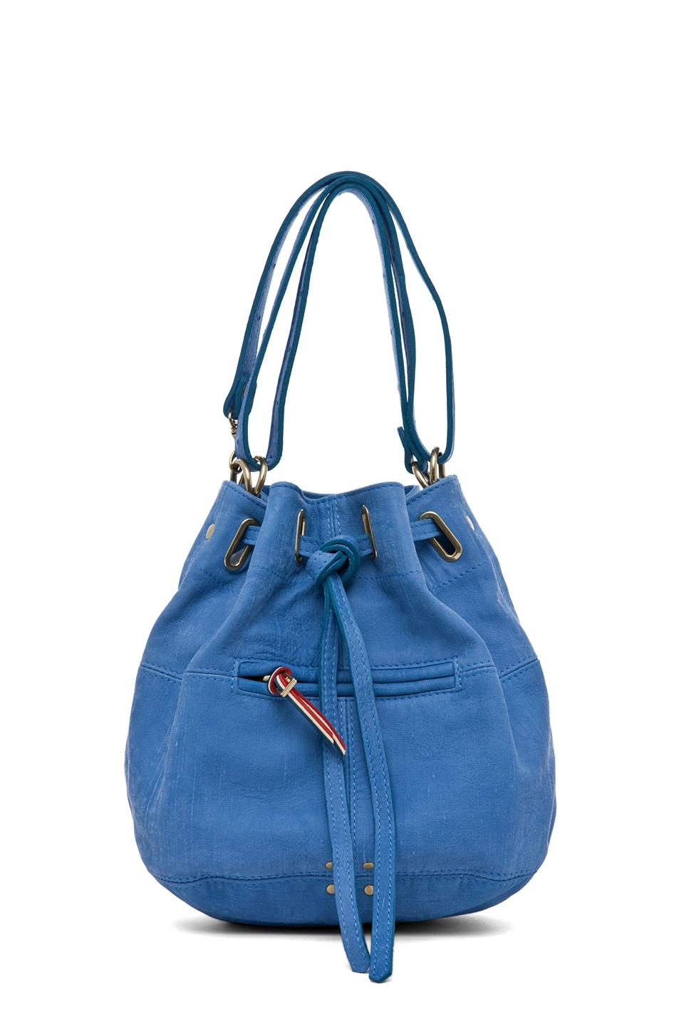 Image 1 of Jerome Dreyfuss Alain S Bag in Denim Bleu