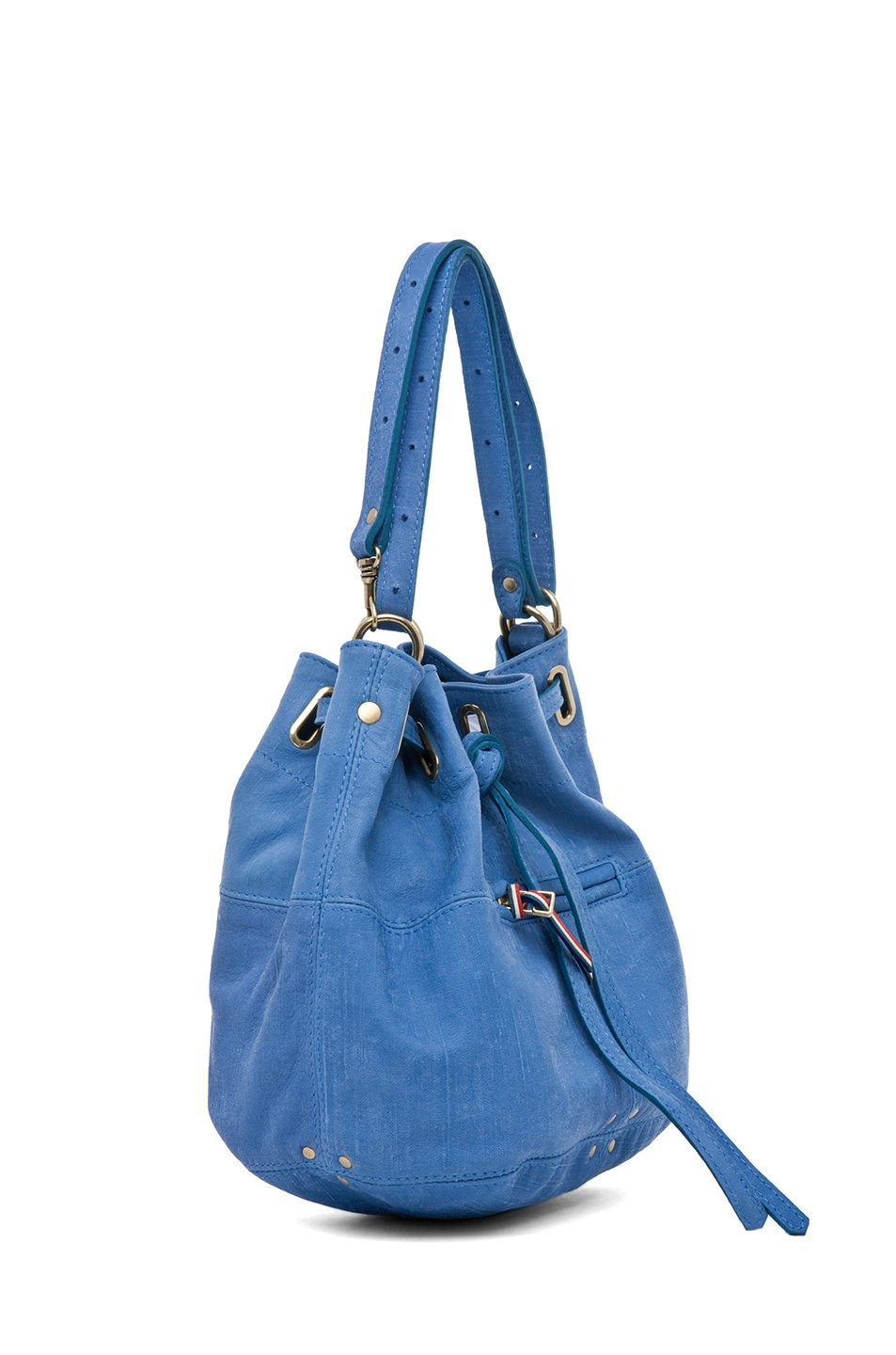 Image 2 of Jerome Dreyfuss Alain S Bag in Denim Bleu