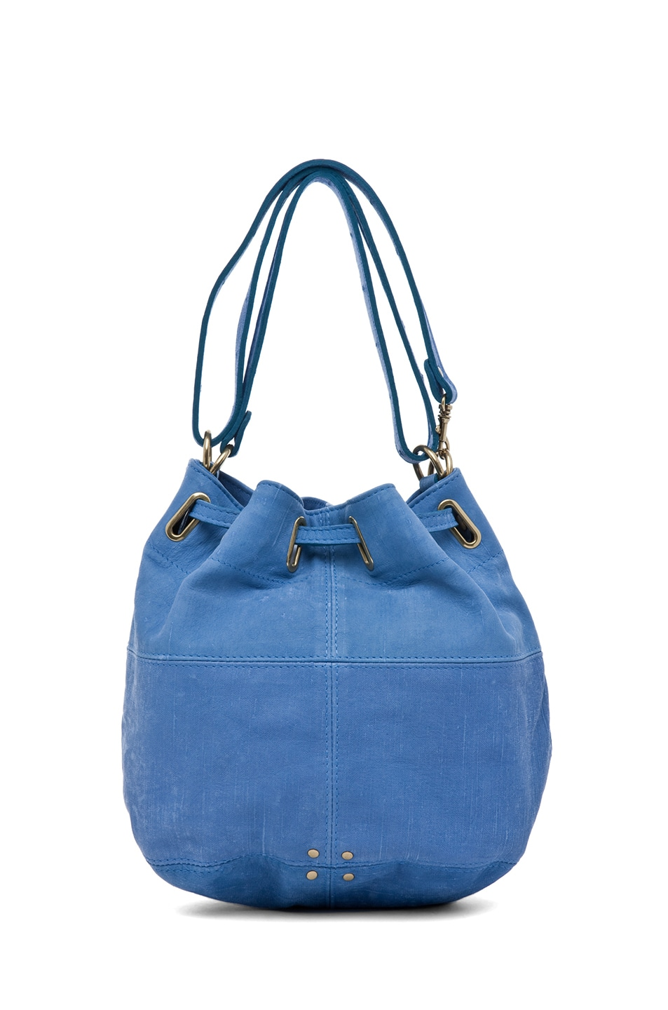 Image 3 of Jerome Dreyfuss Alain S Bag in Denim Bleu