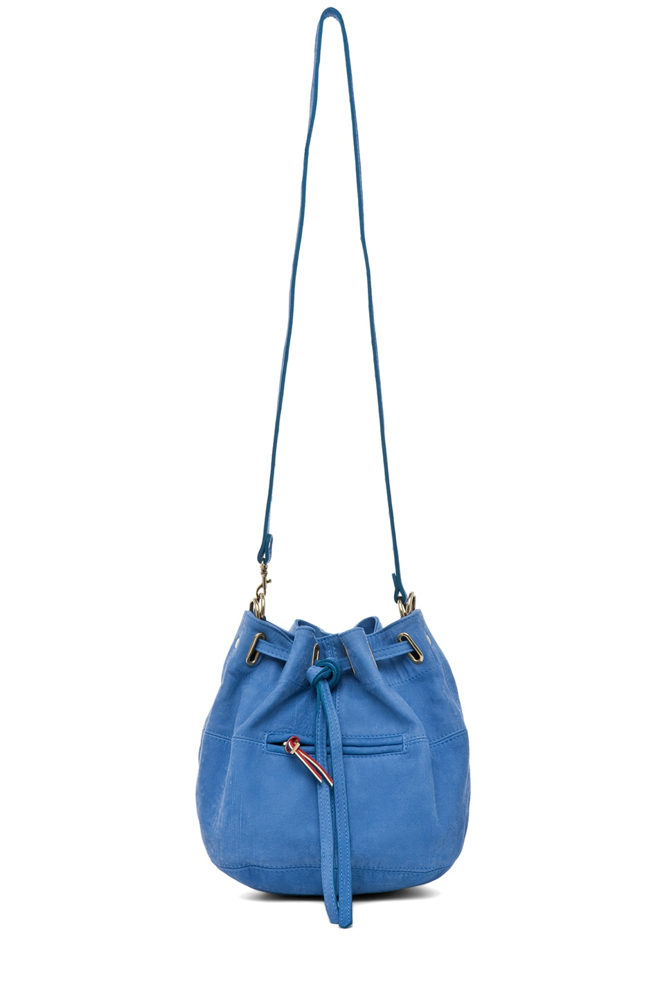 Image 5 of Jerome Dreyfuss Alain S Bag in Denim Bleu