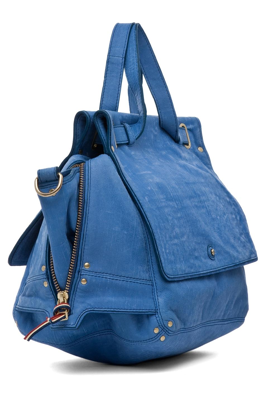 Image 3 of Jerome Dreyfuss Johan Bag in Denim Bleu