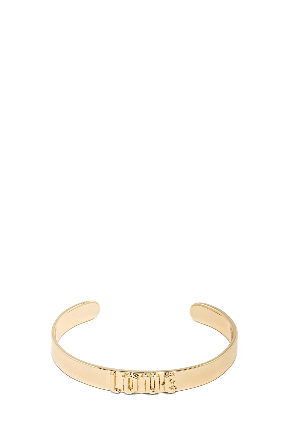 Image 1 of Jennifer Fisher Small Love Cuff in Brass