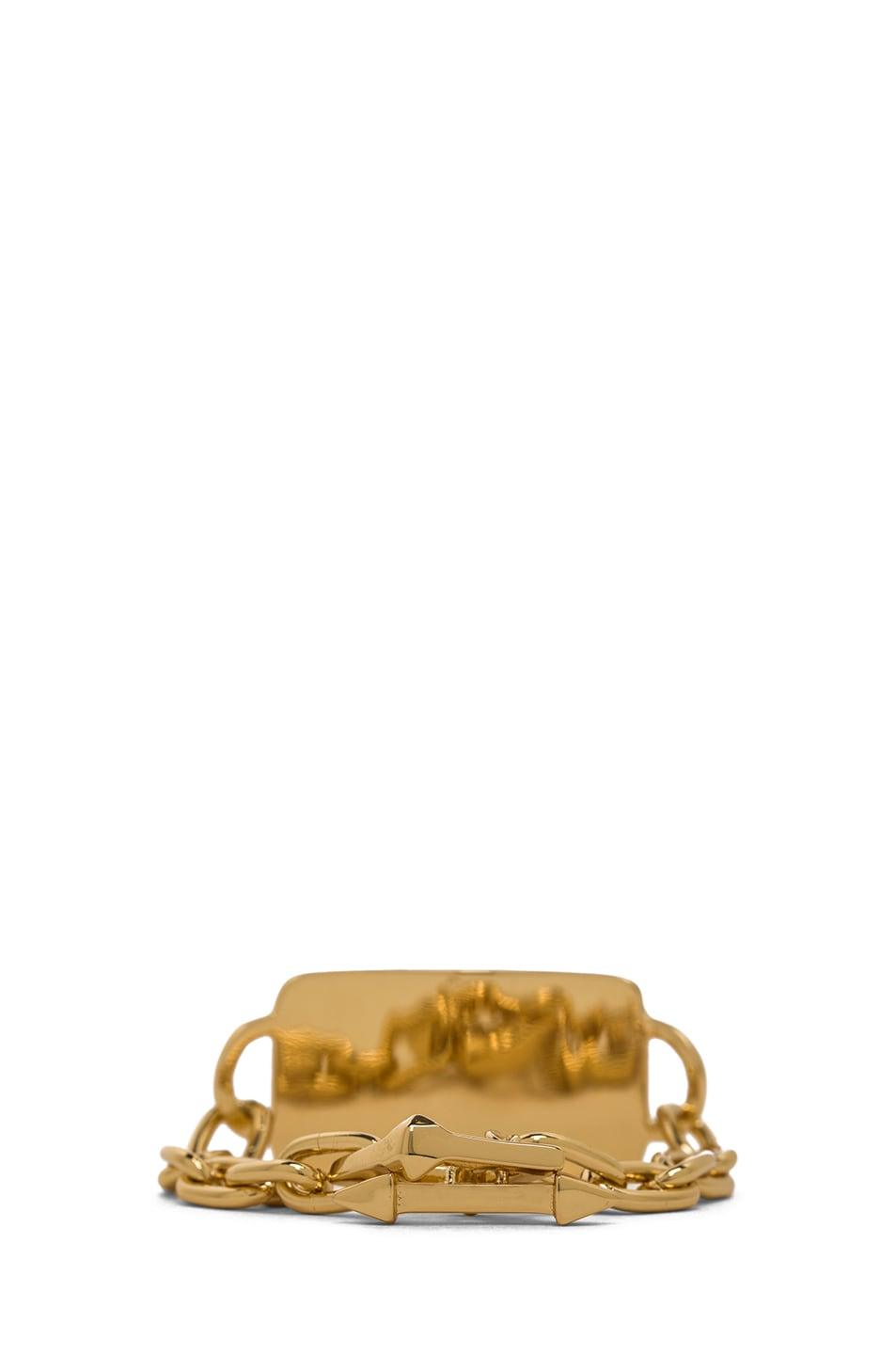 Image 3 of Jennifer Fisher Large ID Toggle Bracelet in Brass