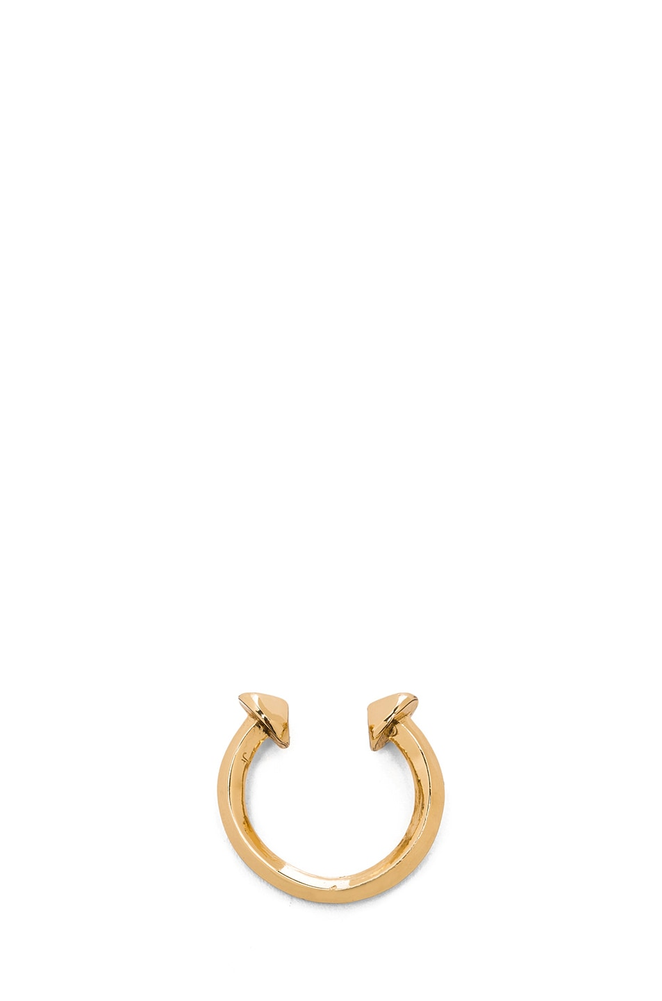 Image 4 of Jennifer Fisher Double Nail Ring in Brass
