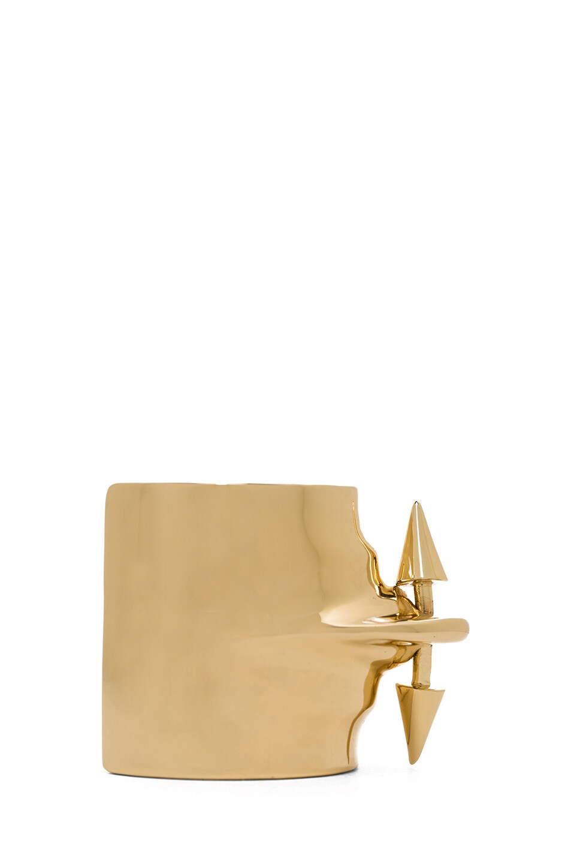 Image 2 of Jennifer Fisher Pierced Cuff in Brass