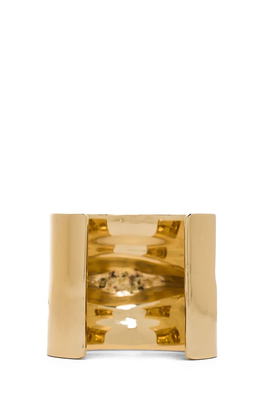 Image 3 of Jennifer Fisher Pierced Cuff in Brass