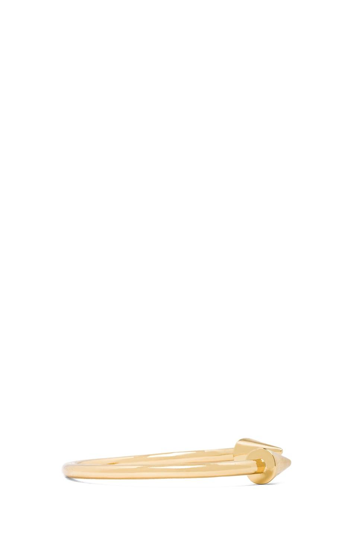 Image 3 of Jennifer Fisher Large Cone Cuff in Brass