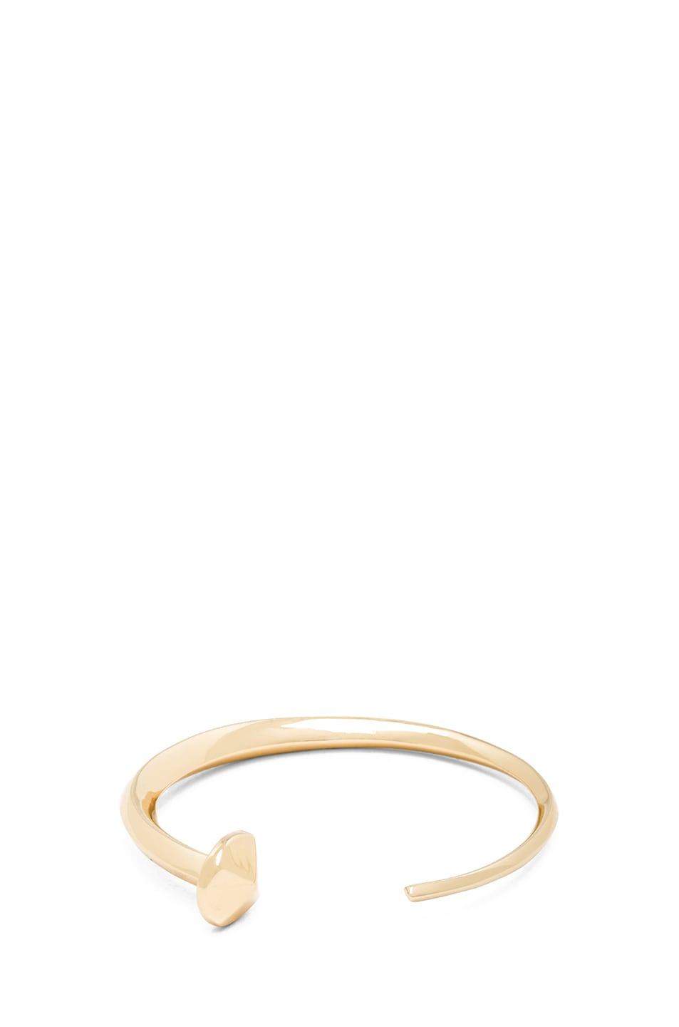 Image 1 of Jennifer Fisher Nail Cuff in Brass