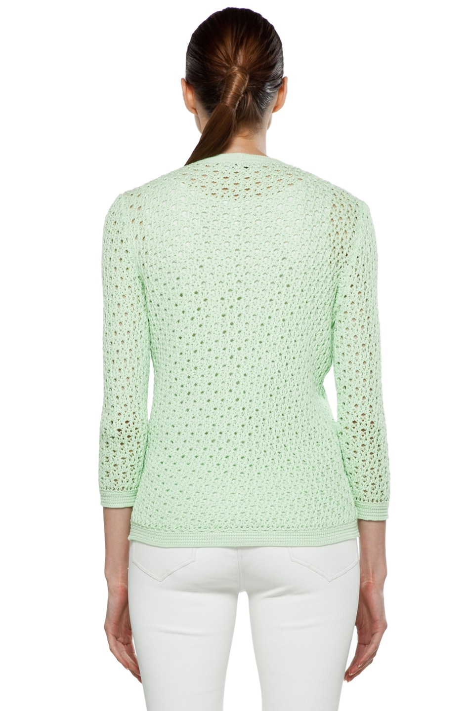 Image 5 of Jil Sander Cardigan in Mint