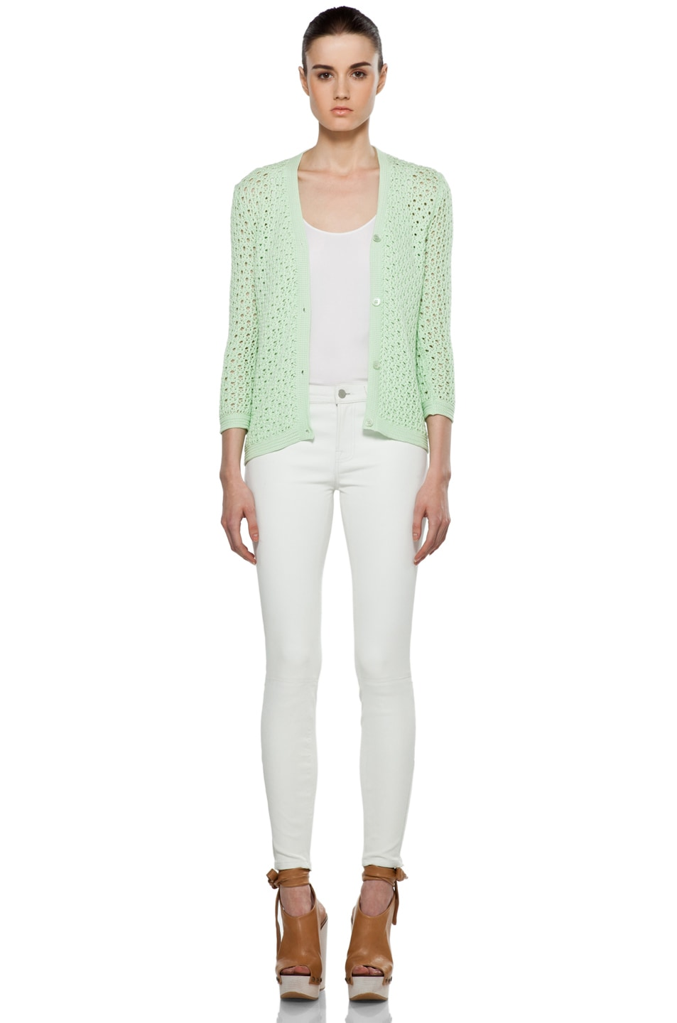 Image 6 of Jil Sander Cardigan in Mint