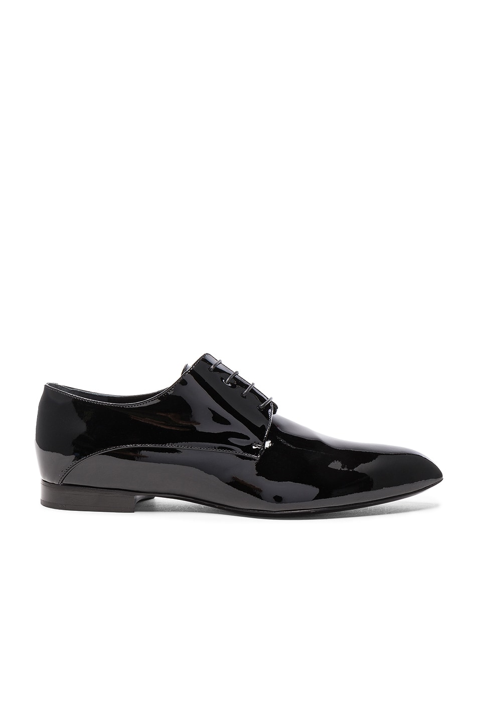 JIL SANDER Patent Leather Oxfords at FORWARD