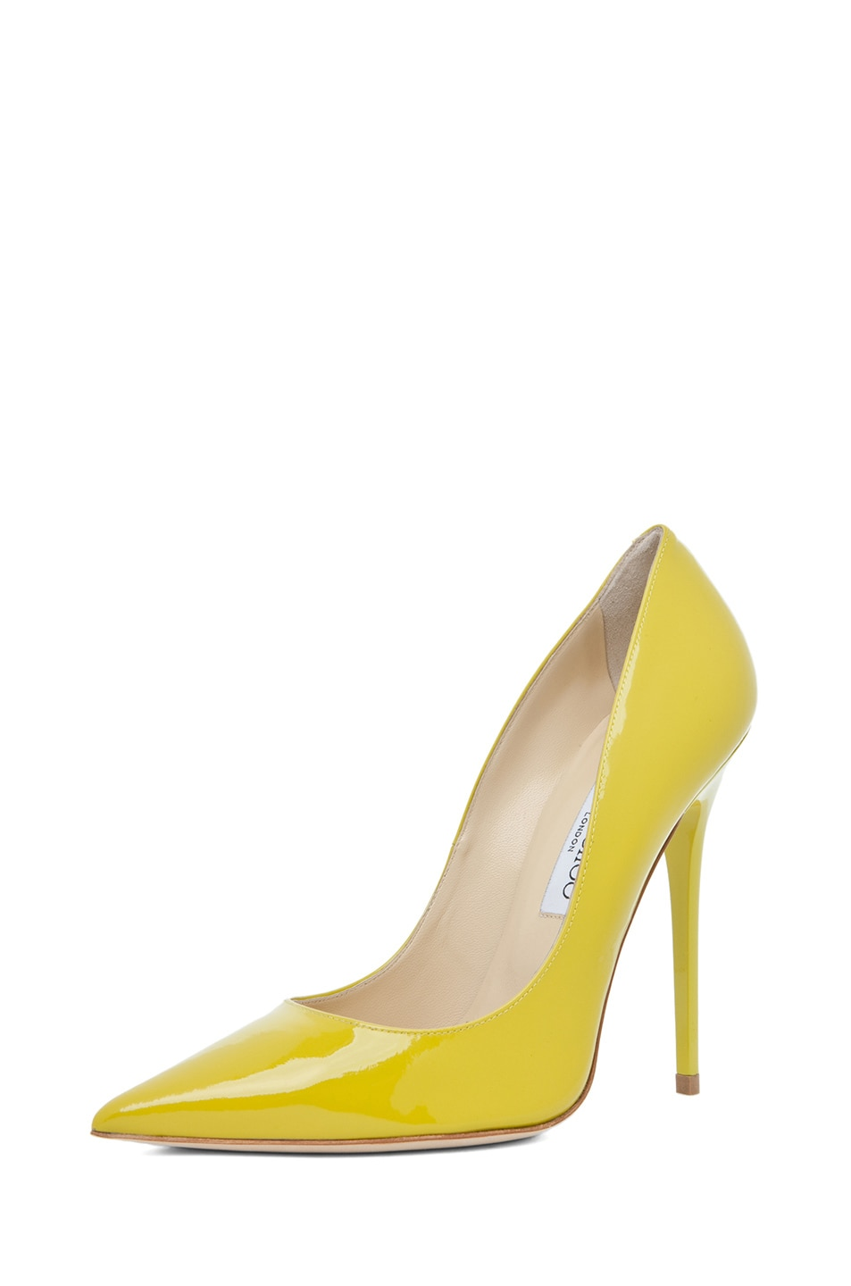 Image 2 of Jimmy Choo Anouk Pump in Citrine