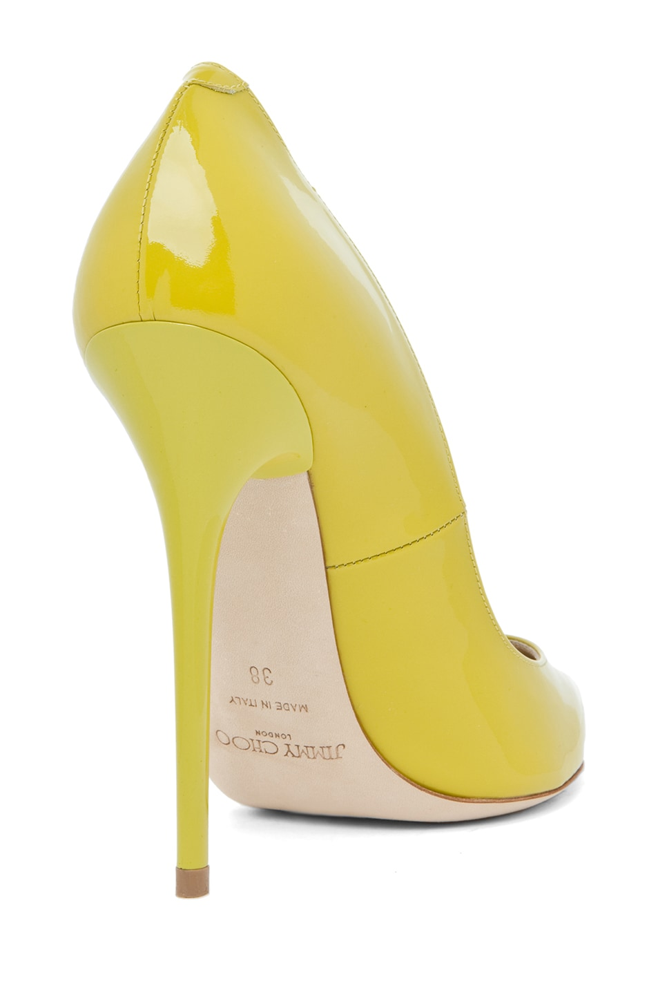 Image 3 of Jimmy Choo Anouk Pump in Citrine
