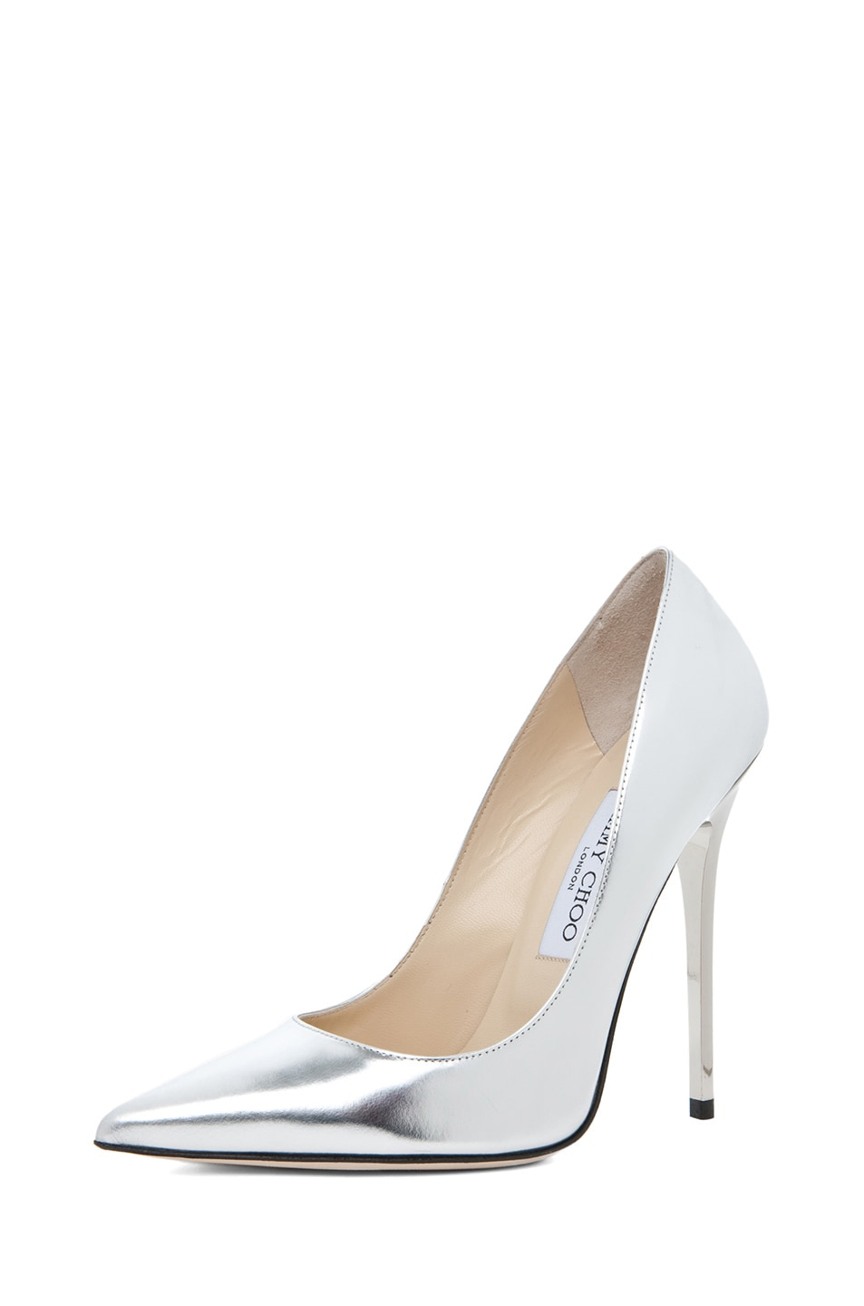 Image 2 of Jimmy Choo Anouk Heel in Silver