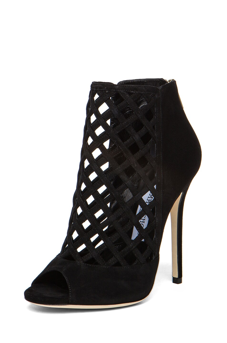 Image 2 of Jimmy Choo Dane Suede Ankle Boots in Black