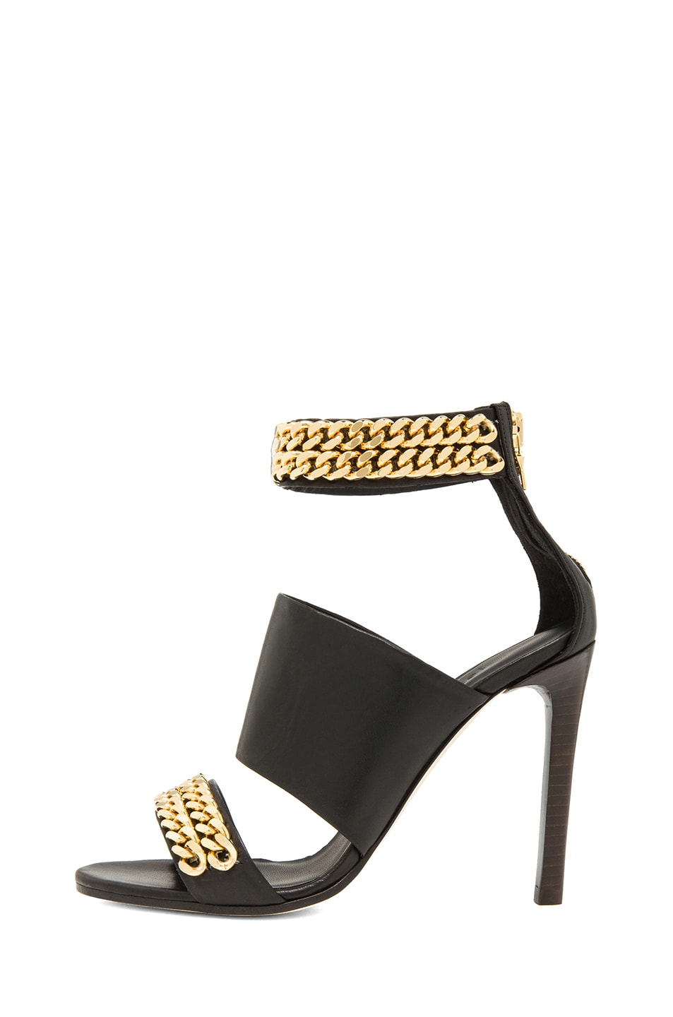 Image 1 of Jenni Kayne Chain High Sandals in Black