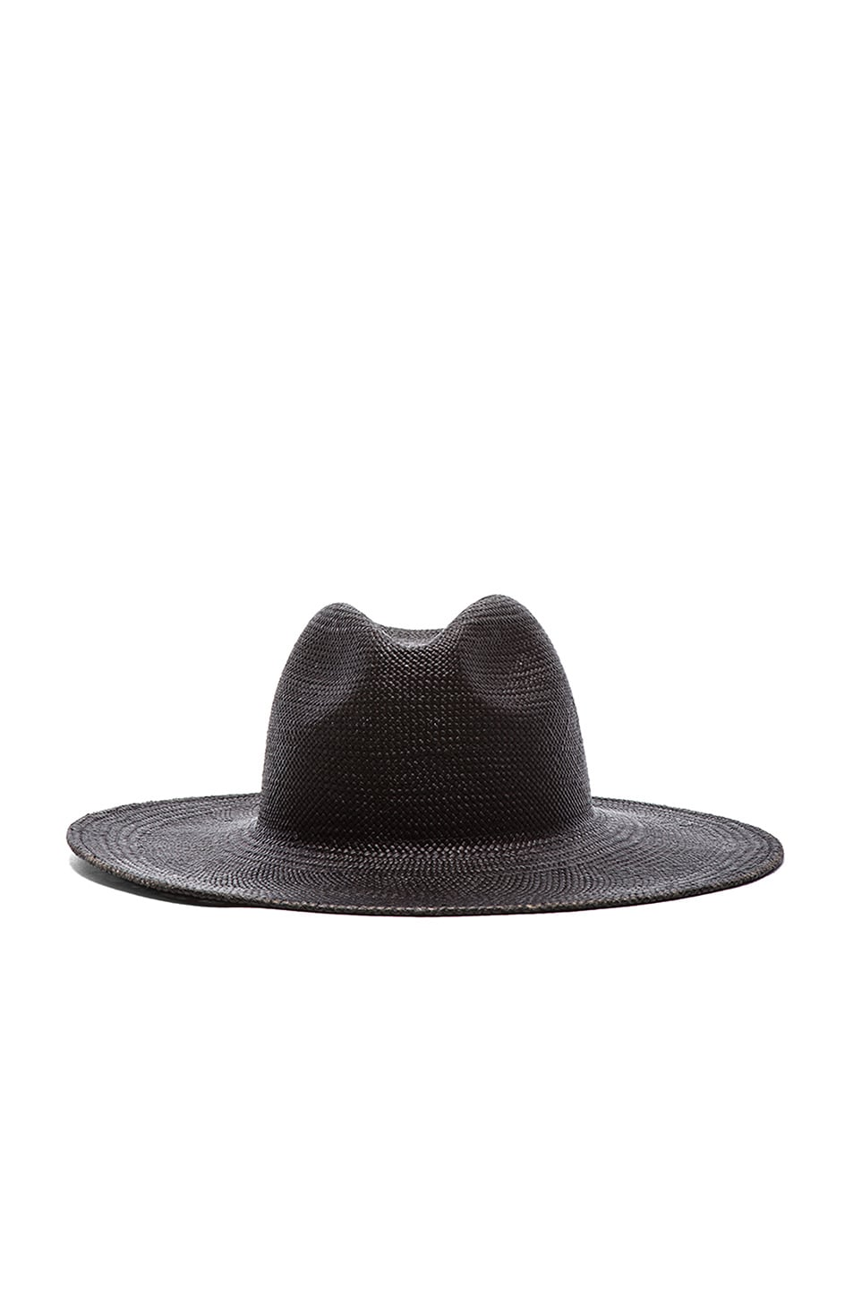 Image 1 of Janessa Leone Rita Straw Hat in Black