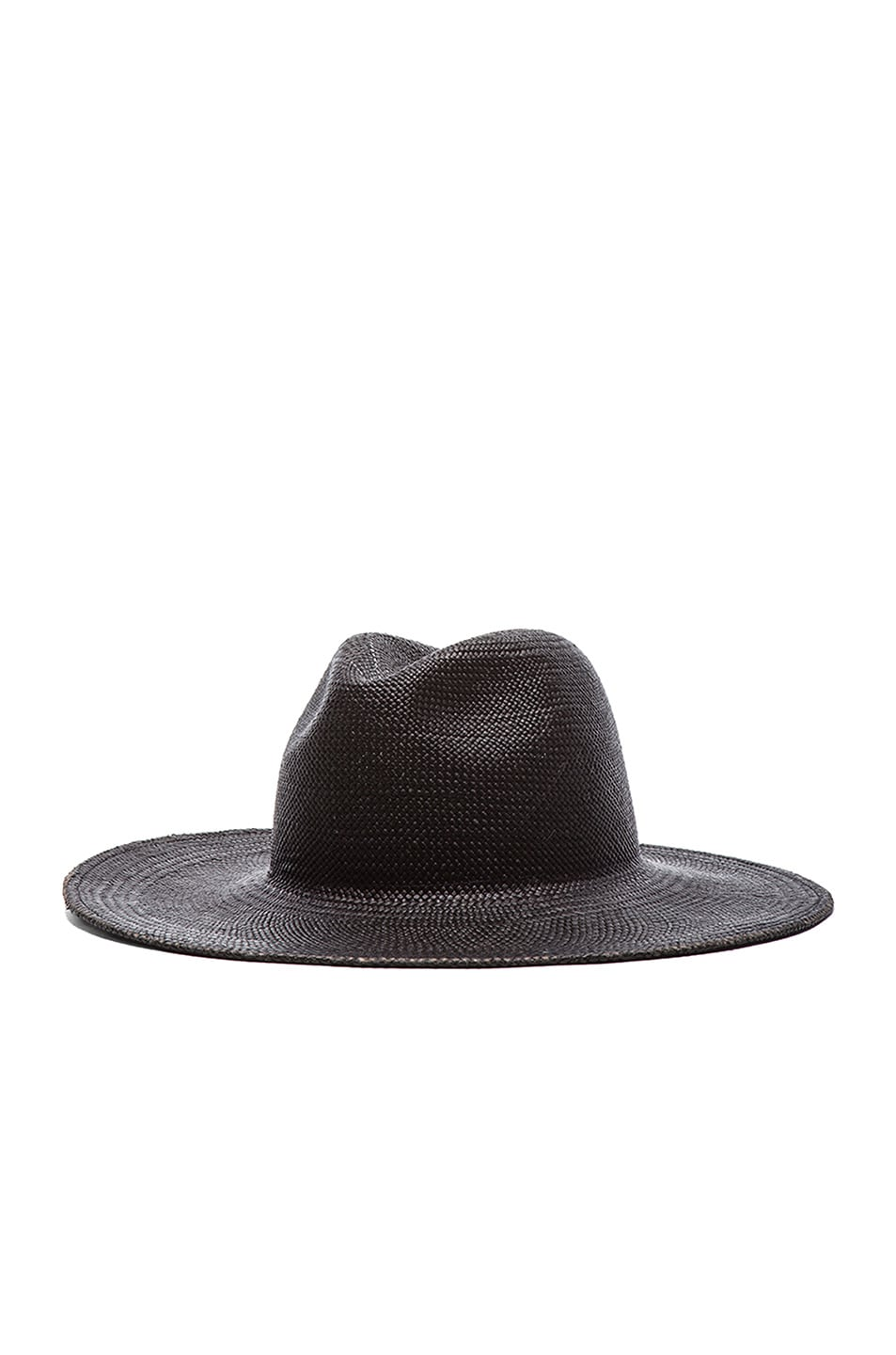Image 3 of Janessa Leone Rita Straw Hat in Black