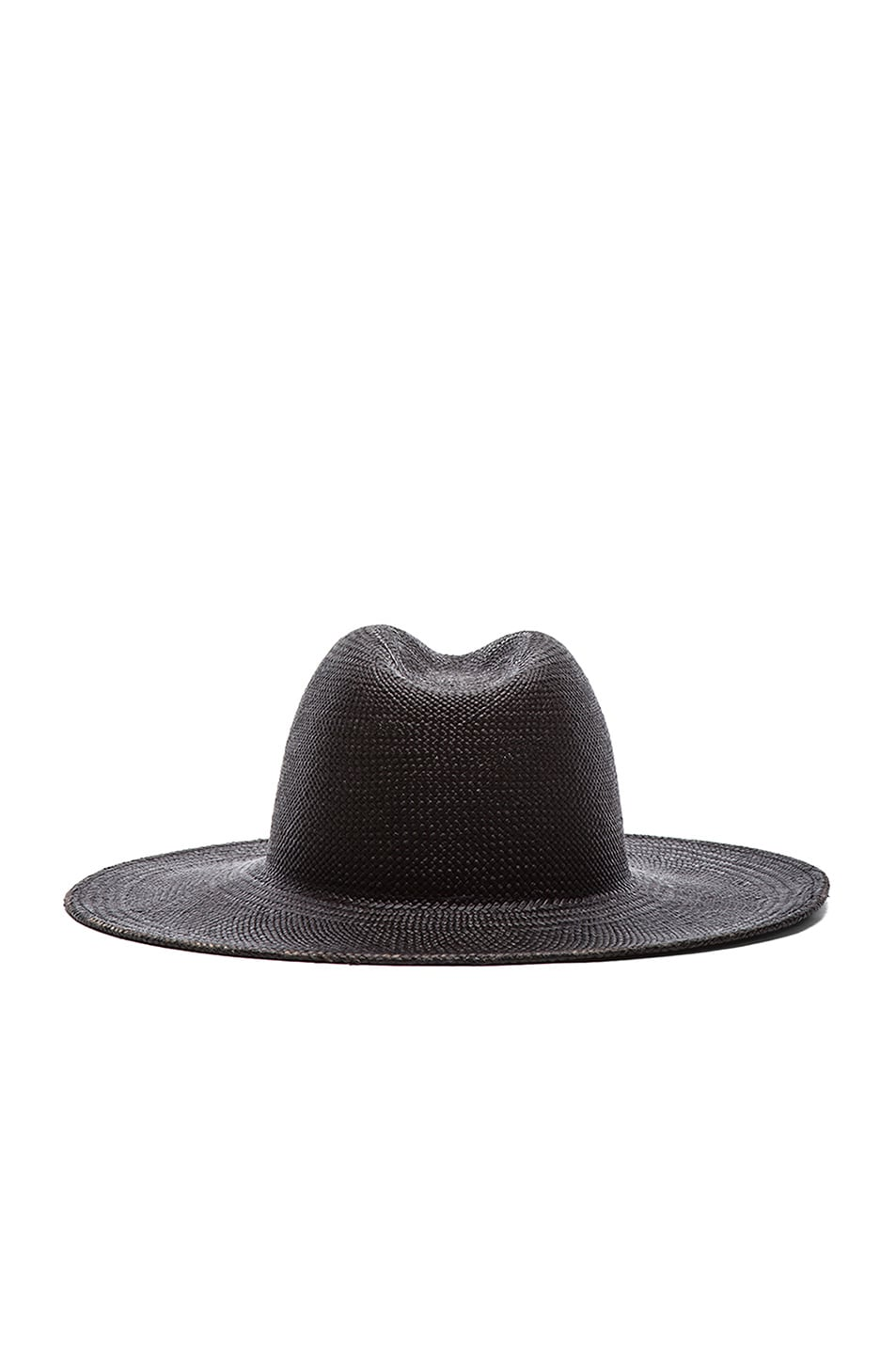 Image 5 of Janessa Leone Rita Straw Hat in Black