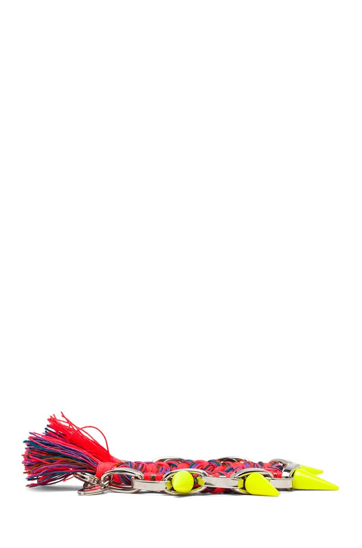 Image 3 of JOOMI LIM Punk Carnival Bracelet in Orange Blue Combo & Yellow
