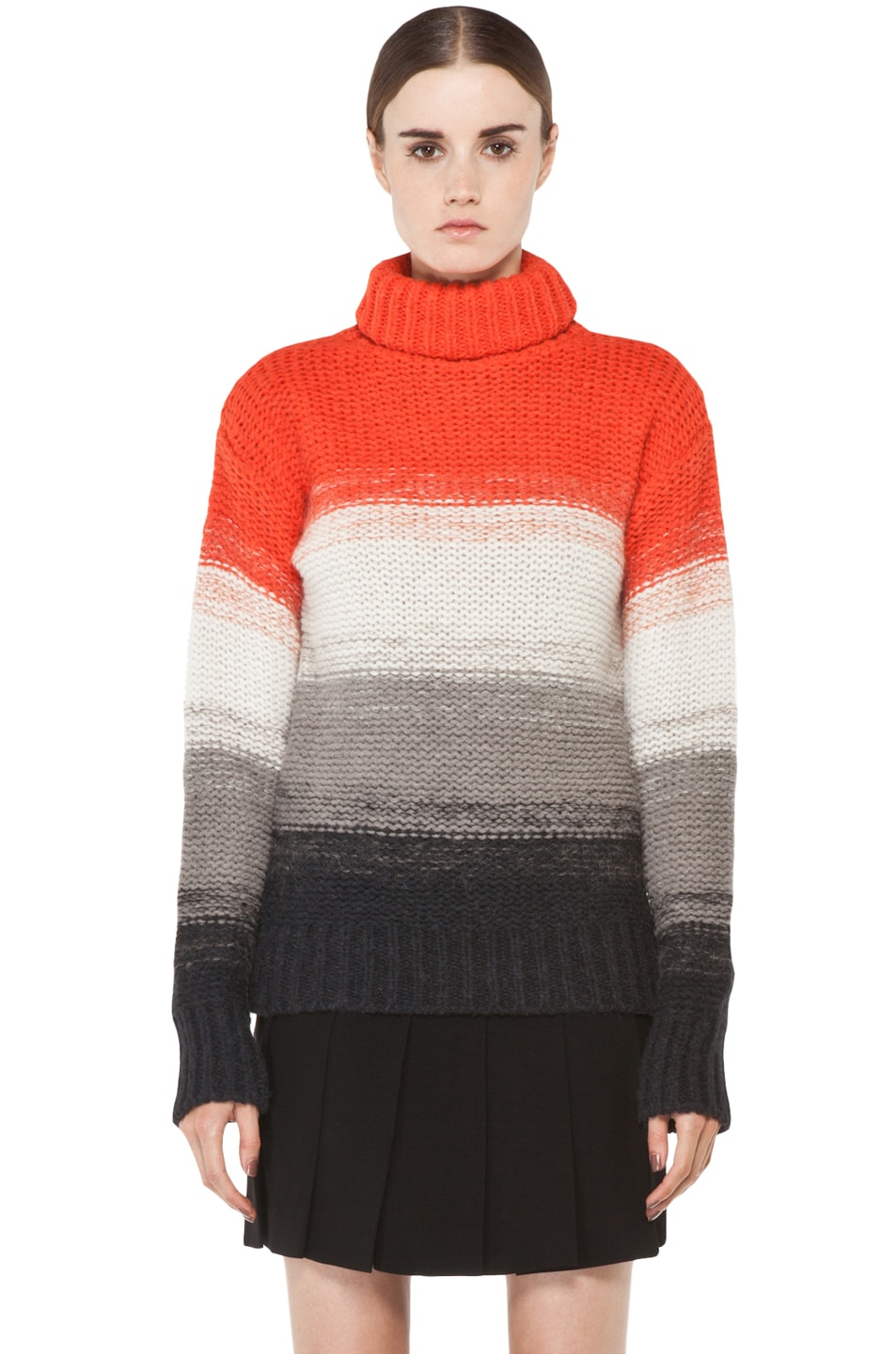 Image 1 of Joseph Peruvian Stripe Sweater in Multi