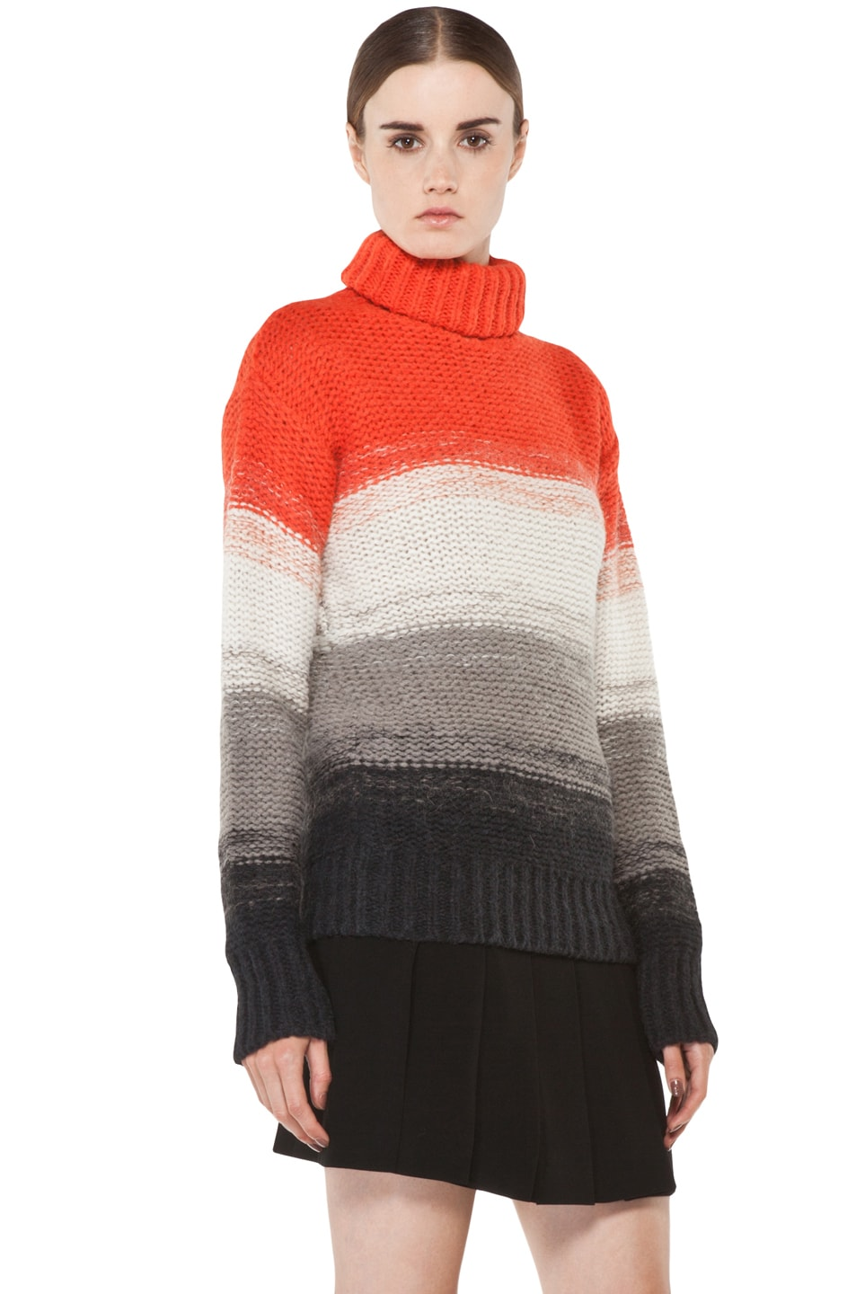 Image 3 of Joseph Peruvian Stripe Sweater in Multi