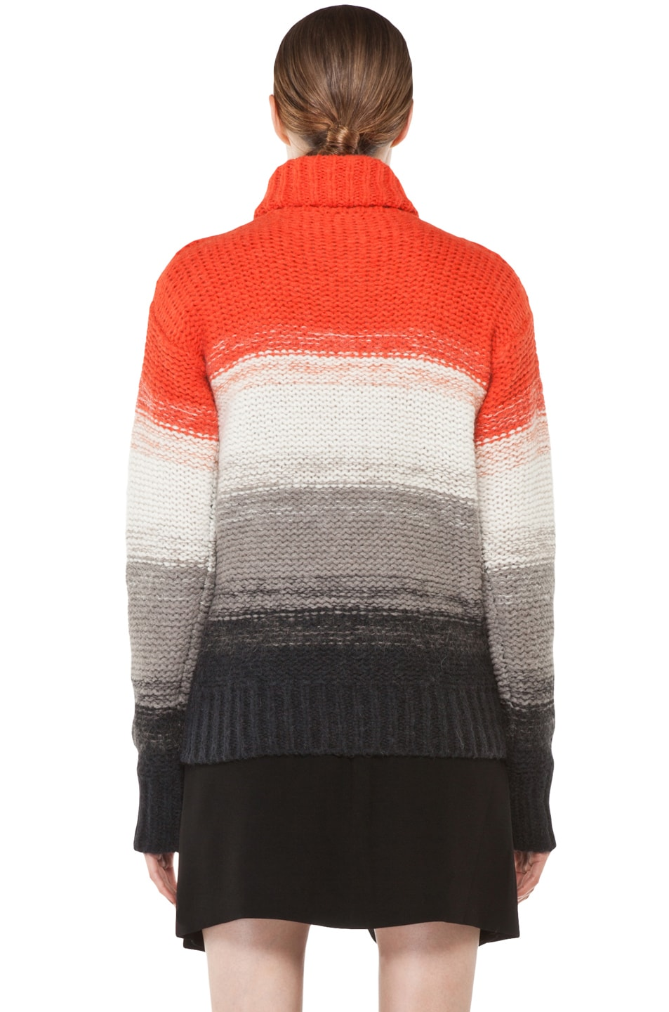 Image 4 of Joseph Peruvian Stripe Sweater in Multi