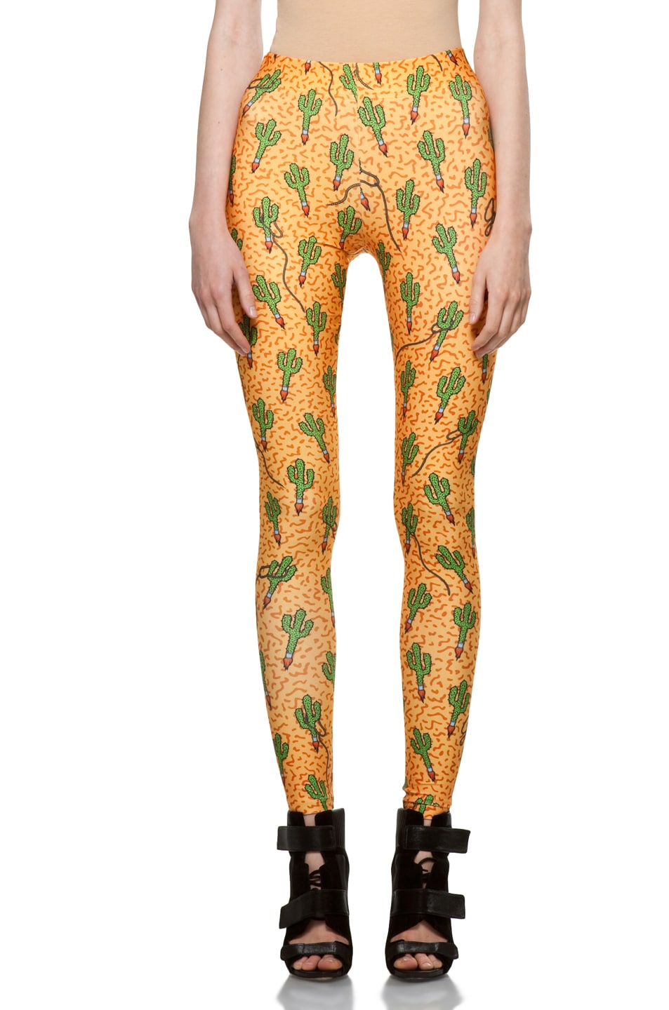 Image 1 of Jeremy Scott Legging in Rocket Cactus