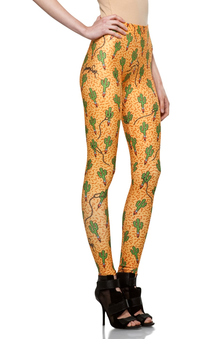 Image 3 of Jeremy Scott Legging in Rocket Cactus
