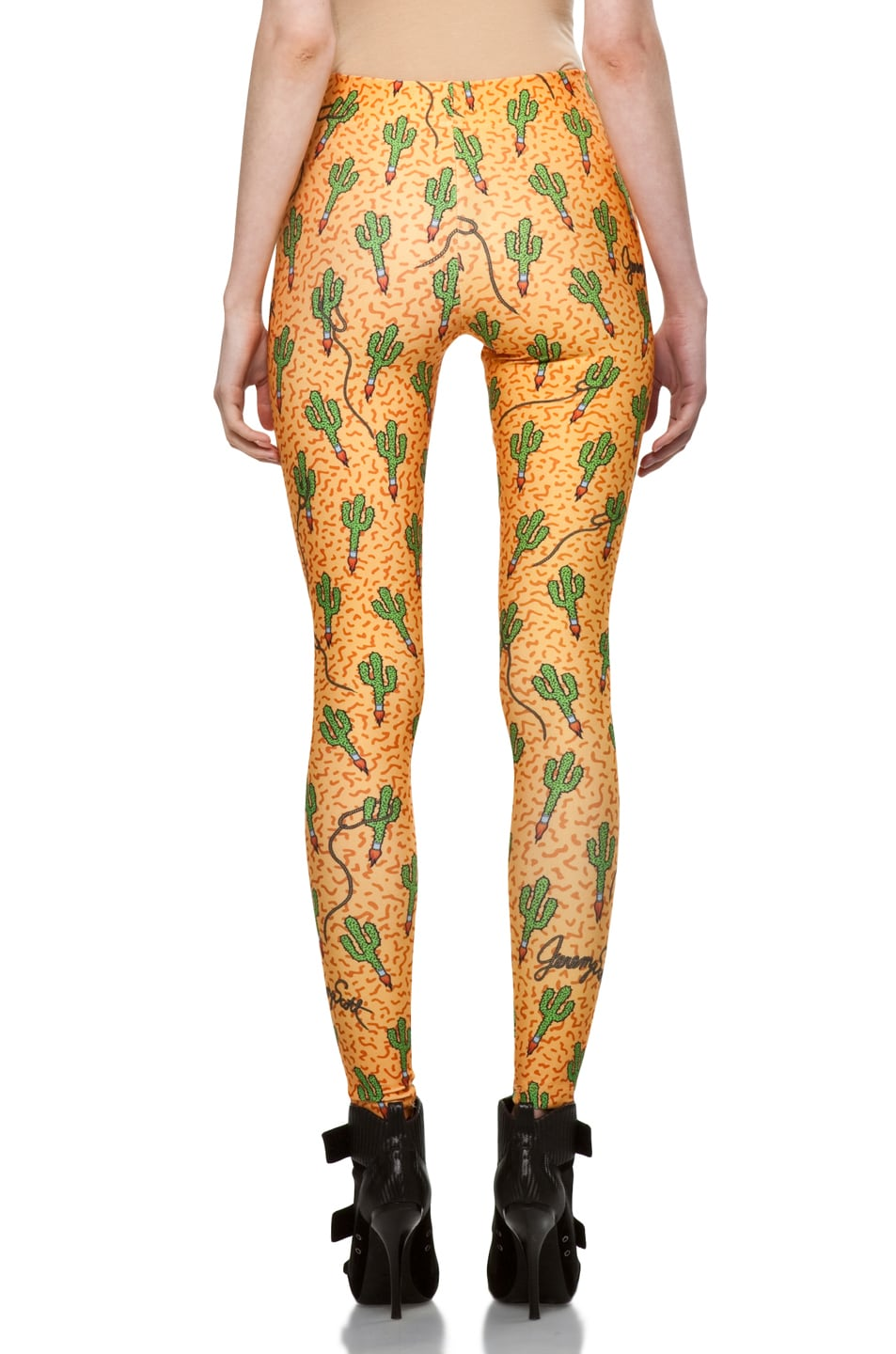 Image 4 of Jeremy Scott Legging in Rocket Cactus