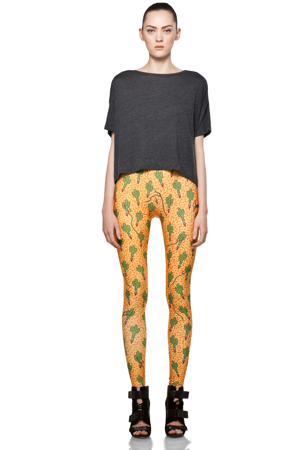 Image 5 of Jeremy Scott Legging in Rocket Cactus