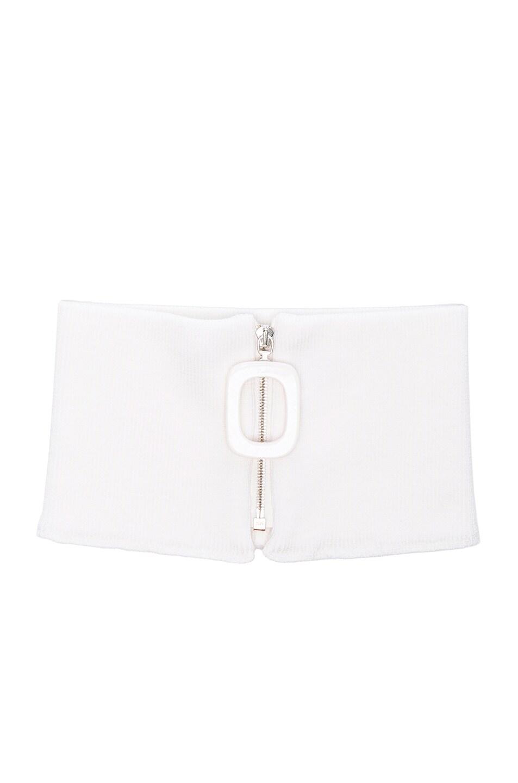 Jw Anderson Collars Zip Neckband