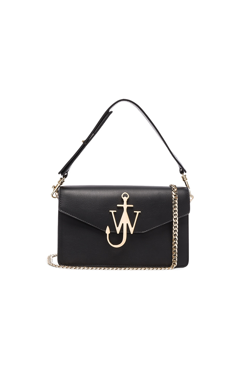 Image 1 of J.W. Anderson Logo Purse in Black