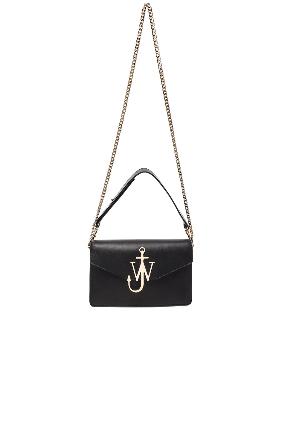 Image 5 of J.W. Anderson Logo Purse in Black