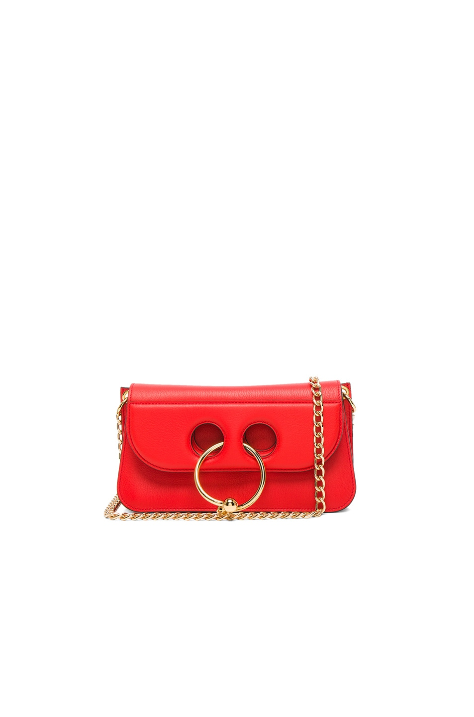 Image 1 of J.W. Anderson Small Pierce Bag in Scarlet